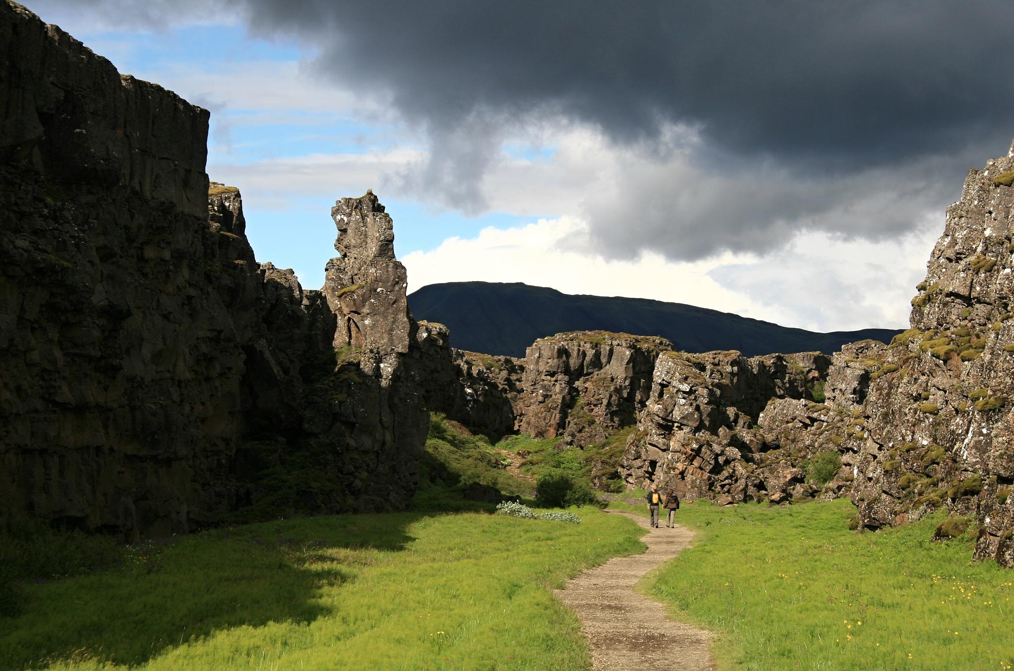 Zemský zlom v Þingvelliru