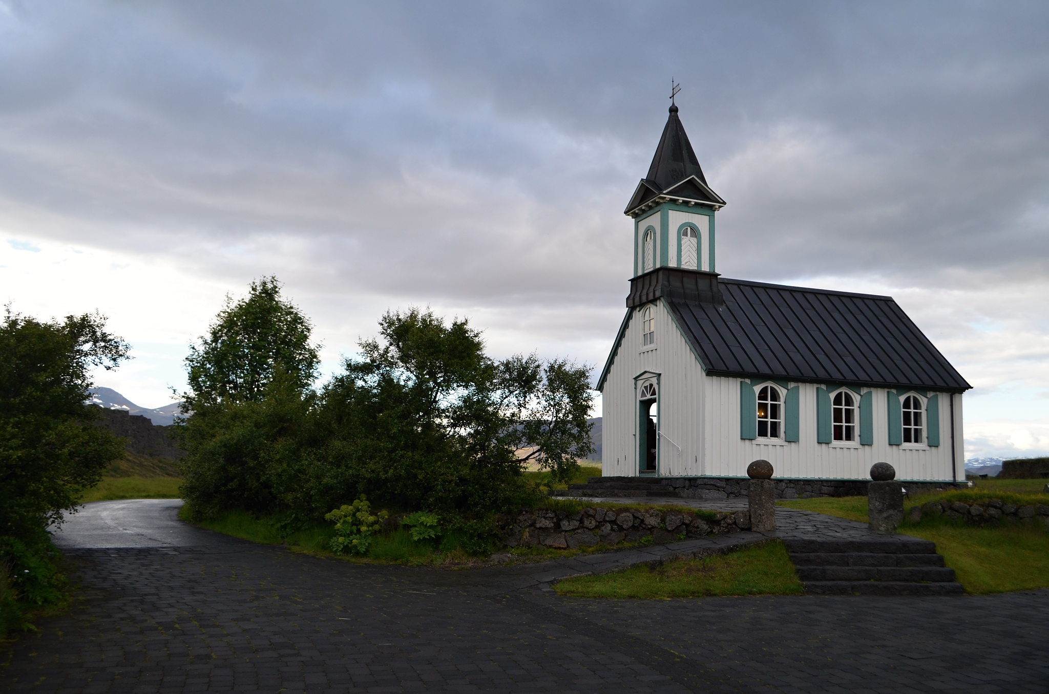 Kostel v Þingvelliru