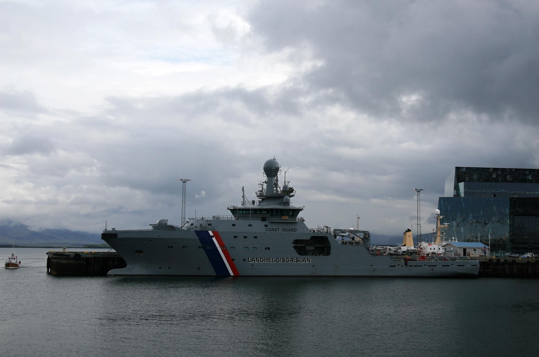 Loď islandské pobřežní stráže