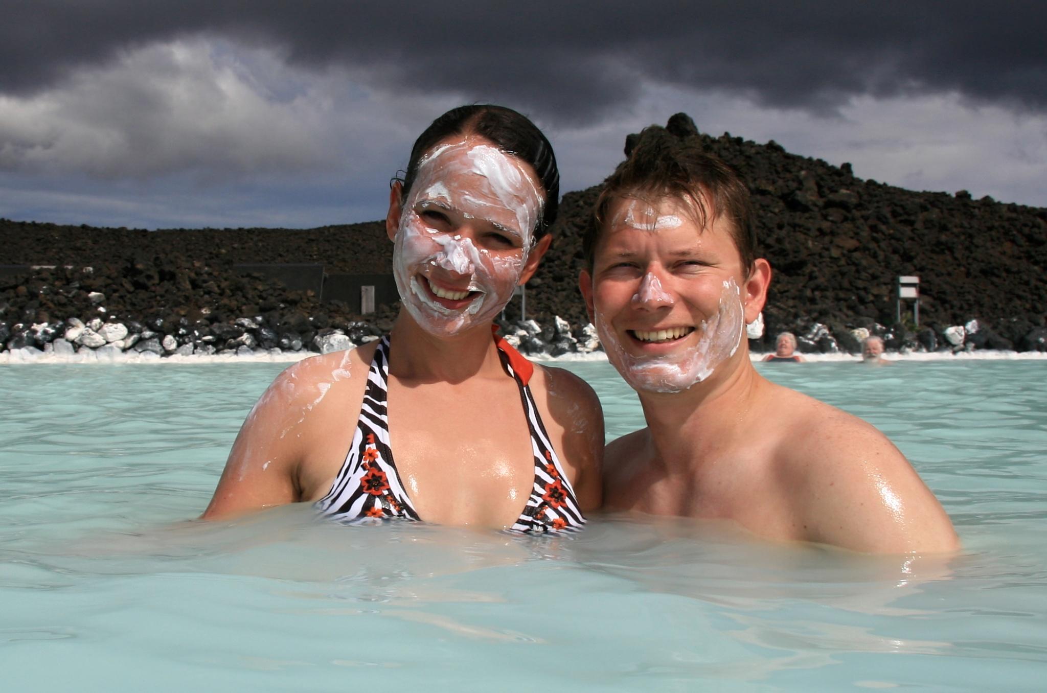Péče o pleť je nedílnou součástí pobytu v Modré laguně