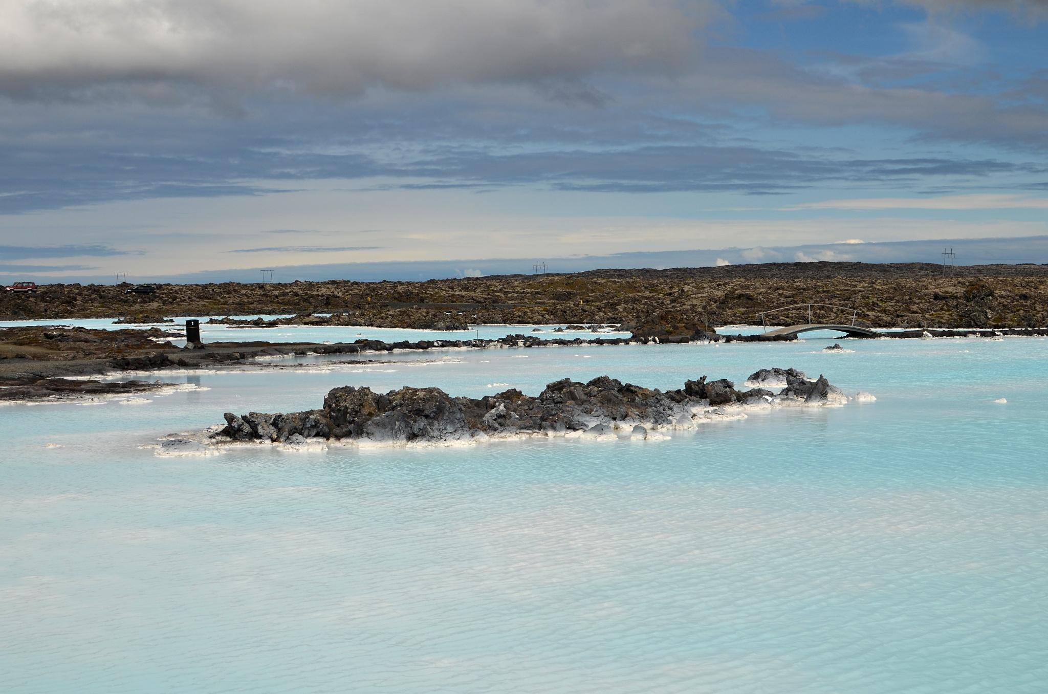 Venkovní část Modré laguny