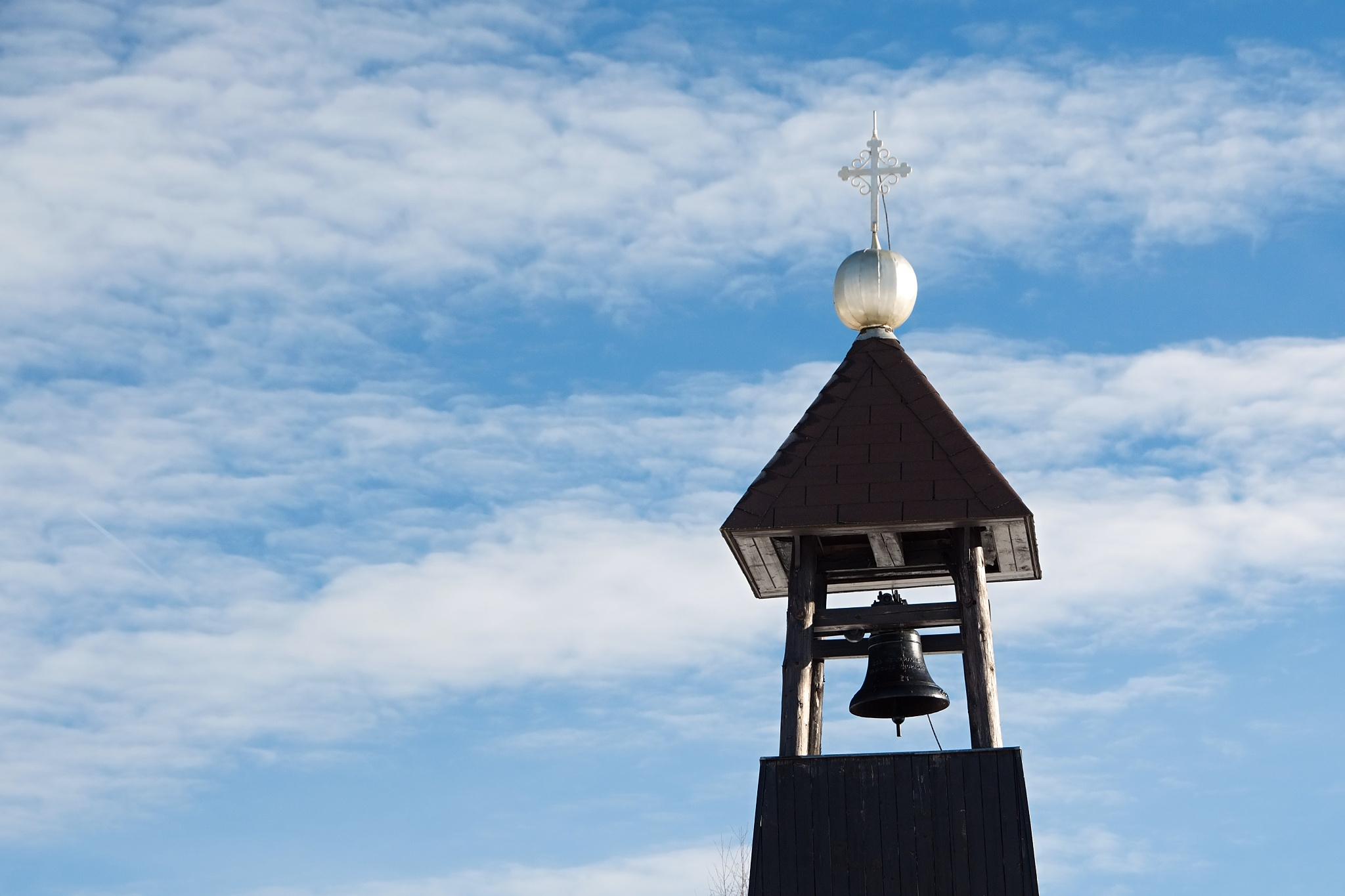 Zvonice na samotě
