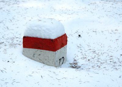 Sněhu bylo až až