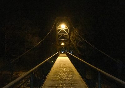 Fotogenický most v Samopších.