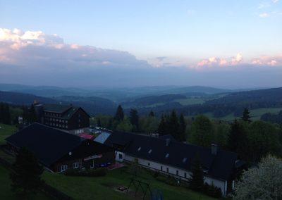 Panorama od hotelu