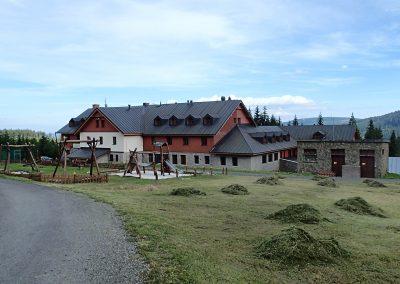 Nově rekonstruované Richtrovy boudy