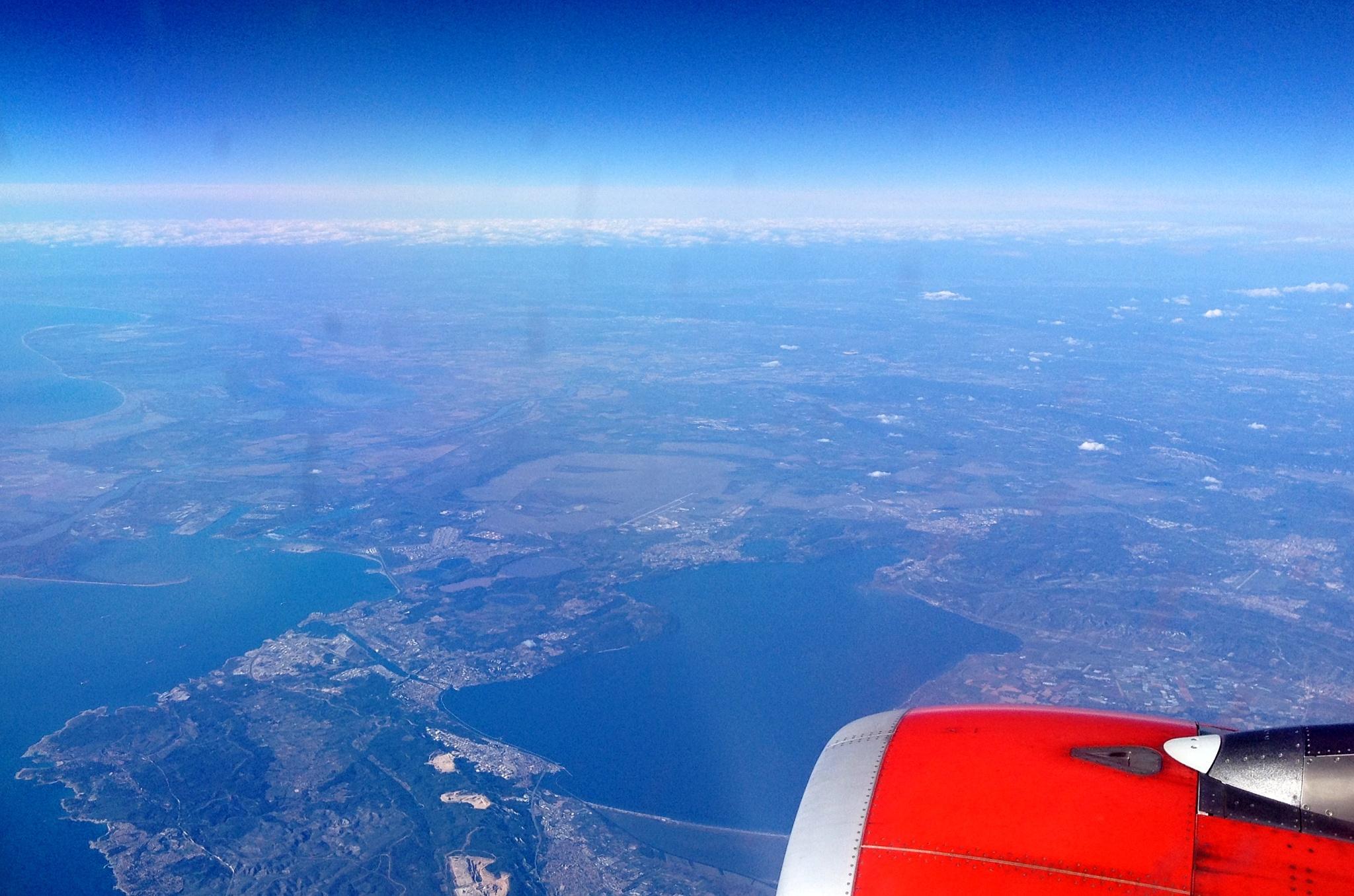 Let z Prahy do Barcelony