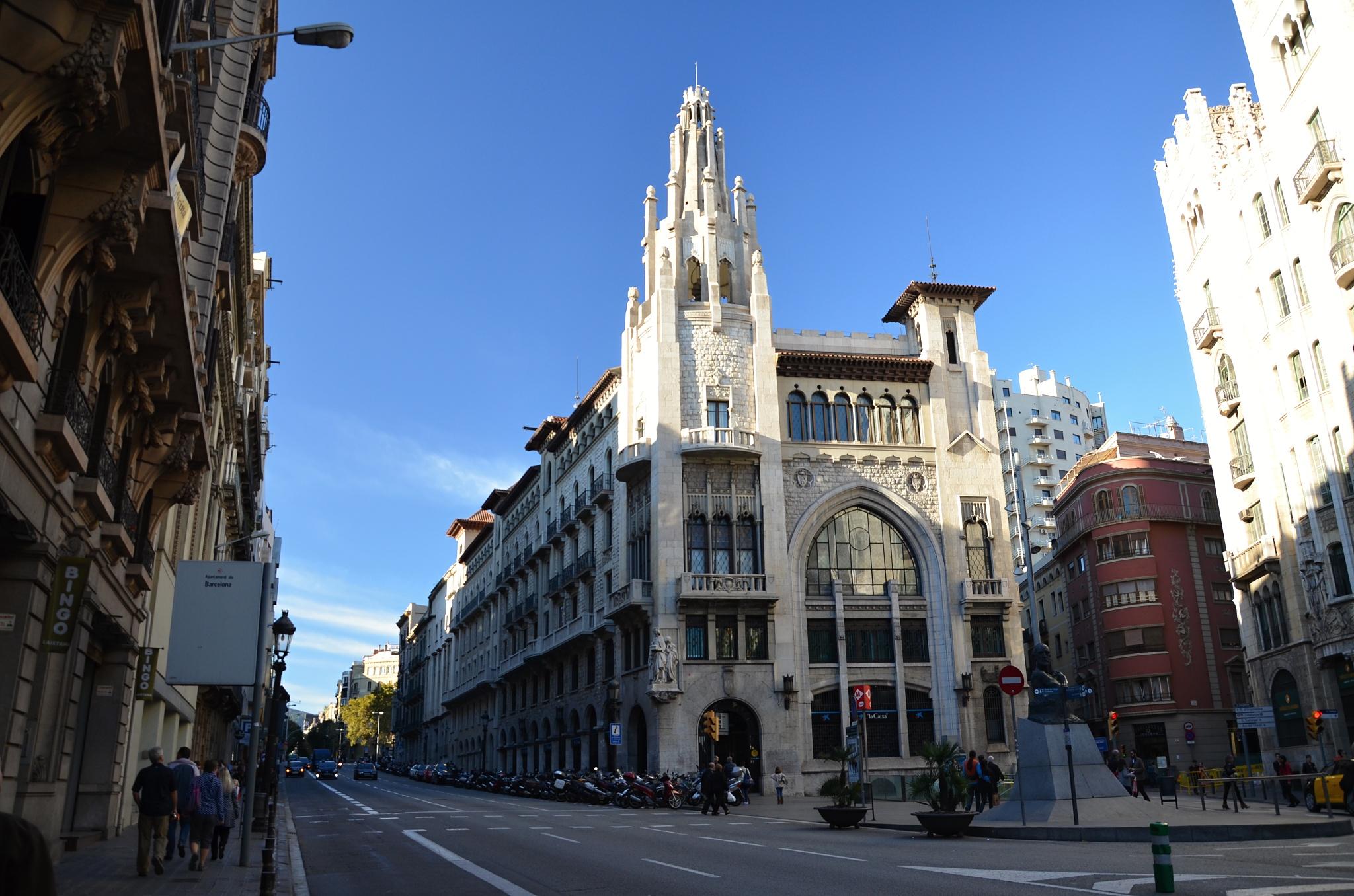 Architektura v Barceloně