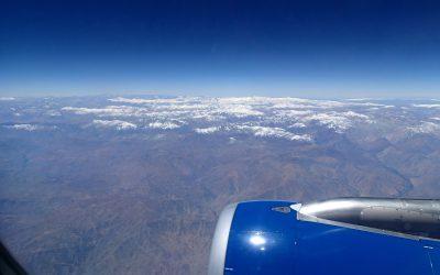 Příprava a dlouhá, předlouhá cesta na dovolenou do Chile