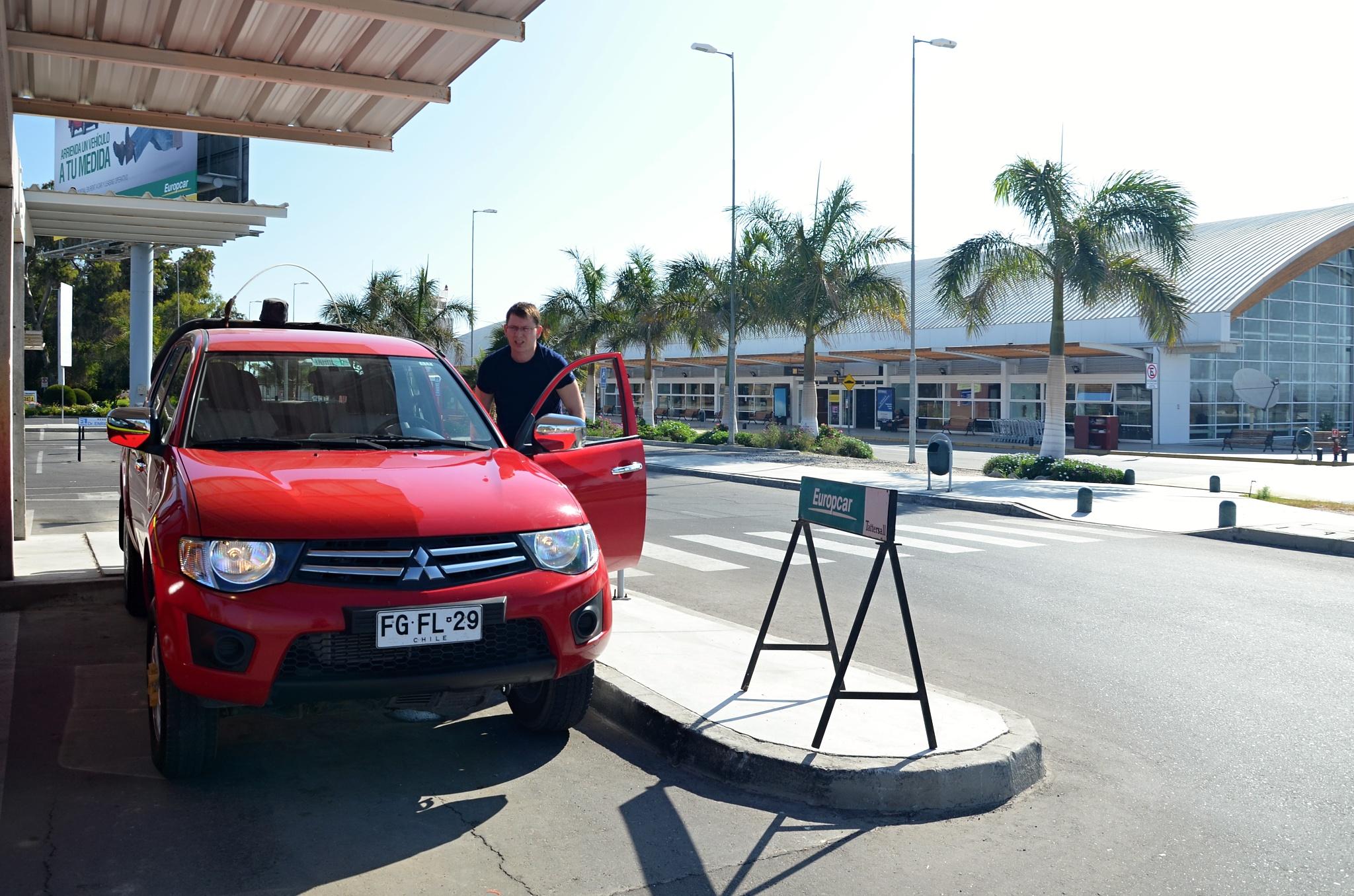 Přebíráme vypůjčené auto Mitsubishi L200