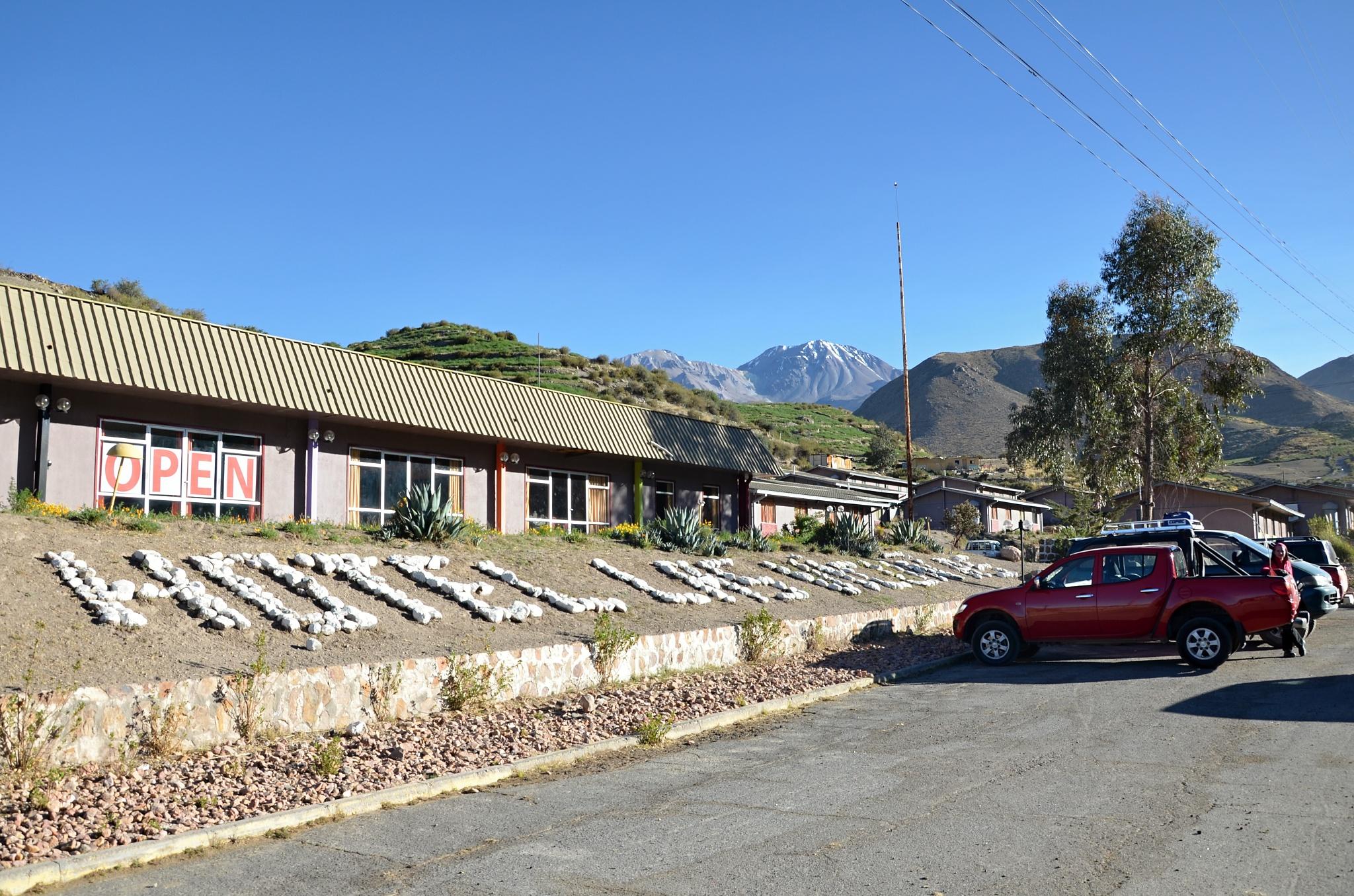 Hotel Las Vicuñas v Putre