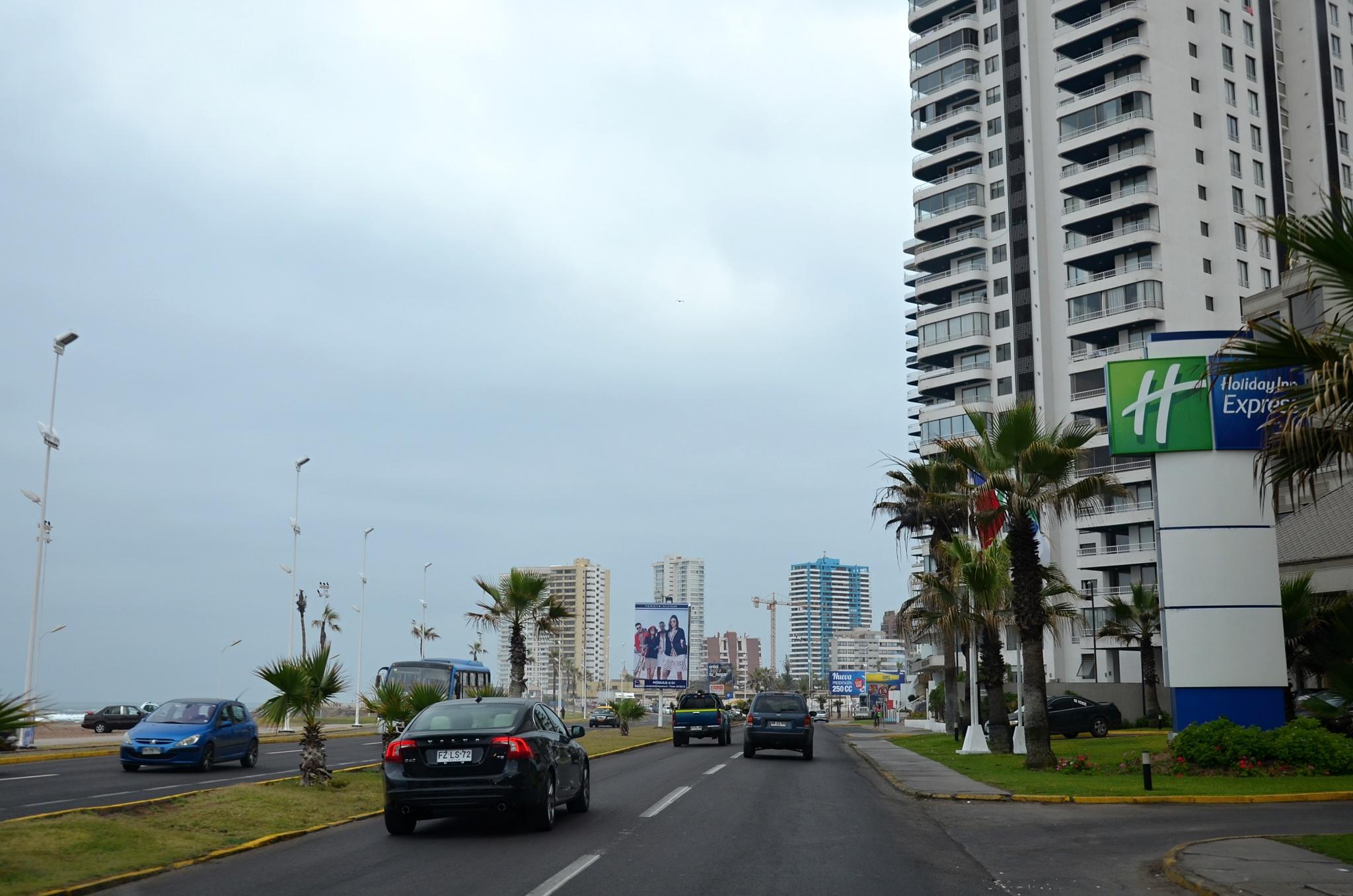 Jedeme po pobřeží Iquique