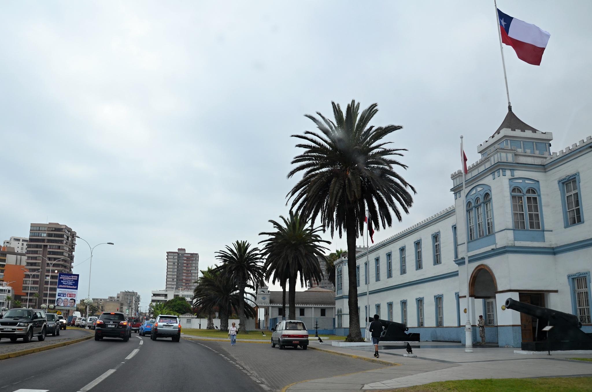 Jízda po pobřeží Iquique