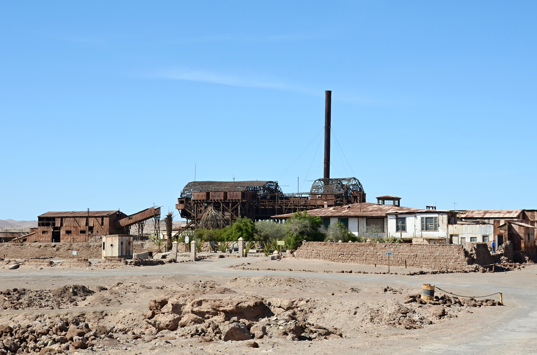 Továrna na ledek Santa Laura