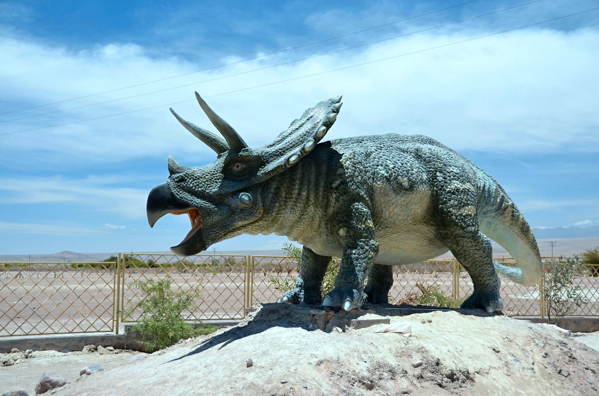 Umělý prehistorický ještěr