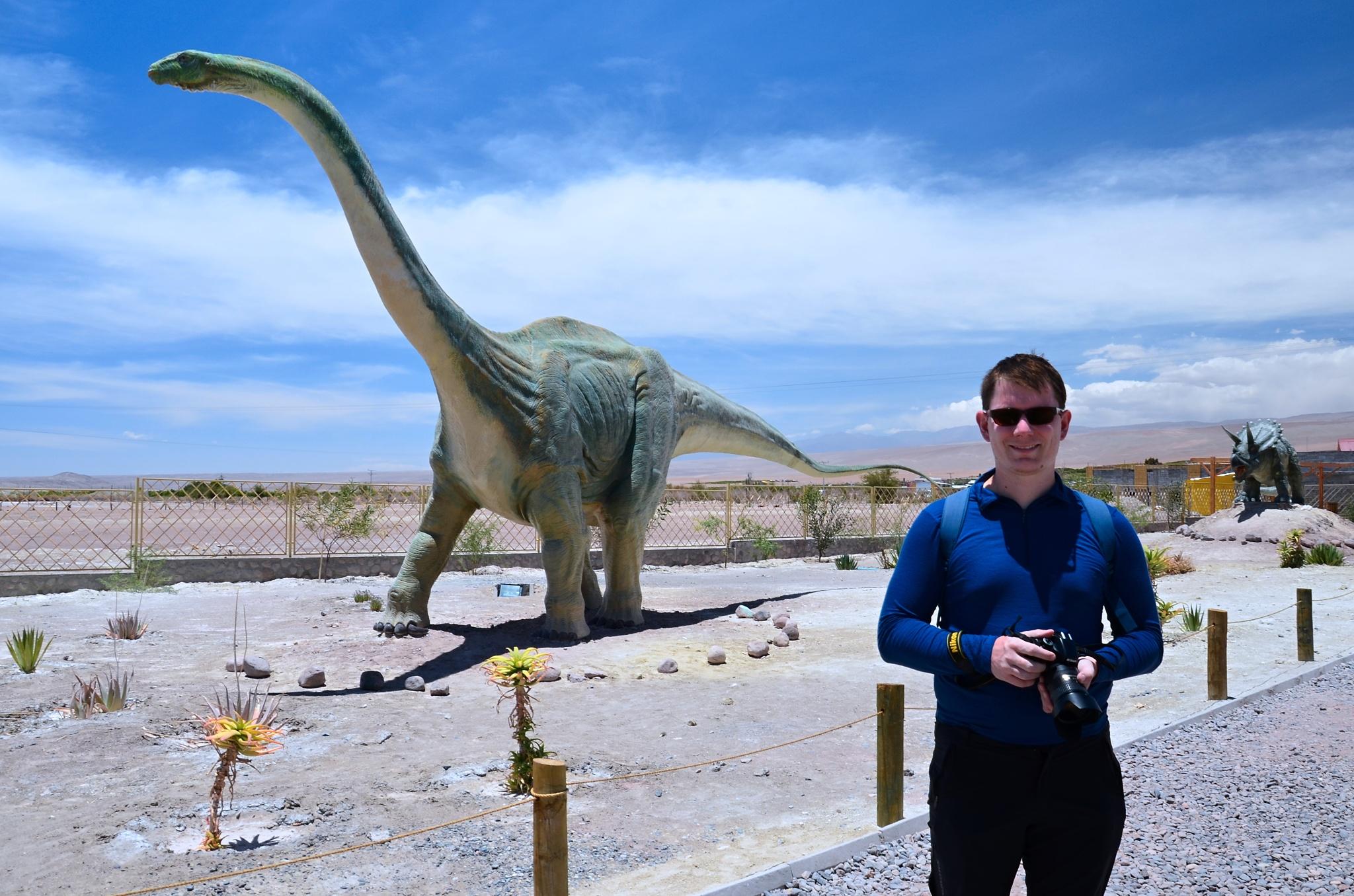 Já a brontosaurus