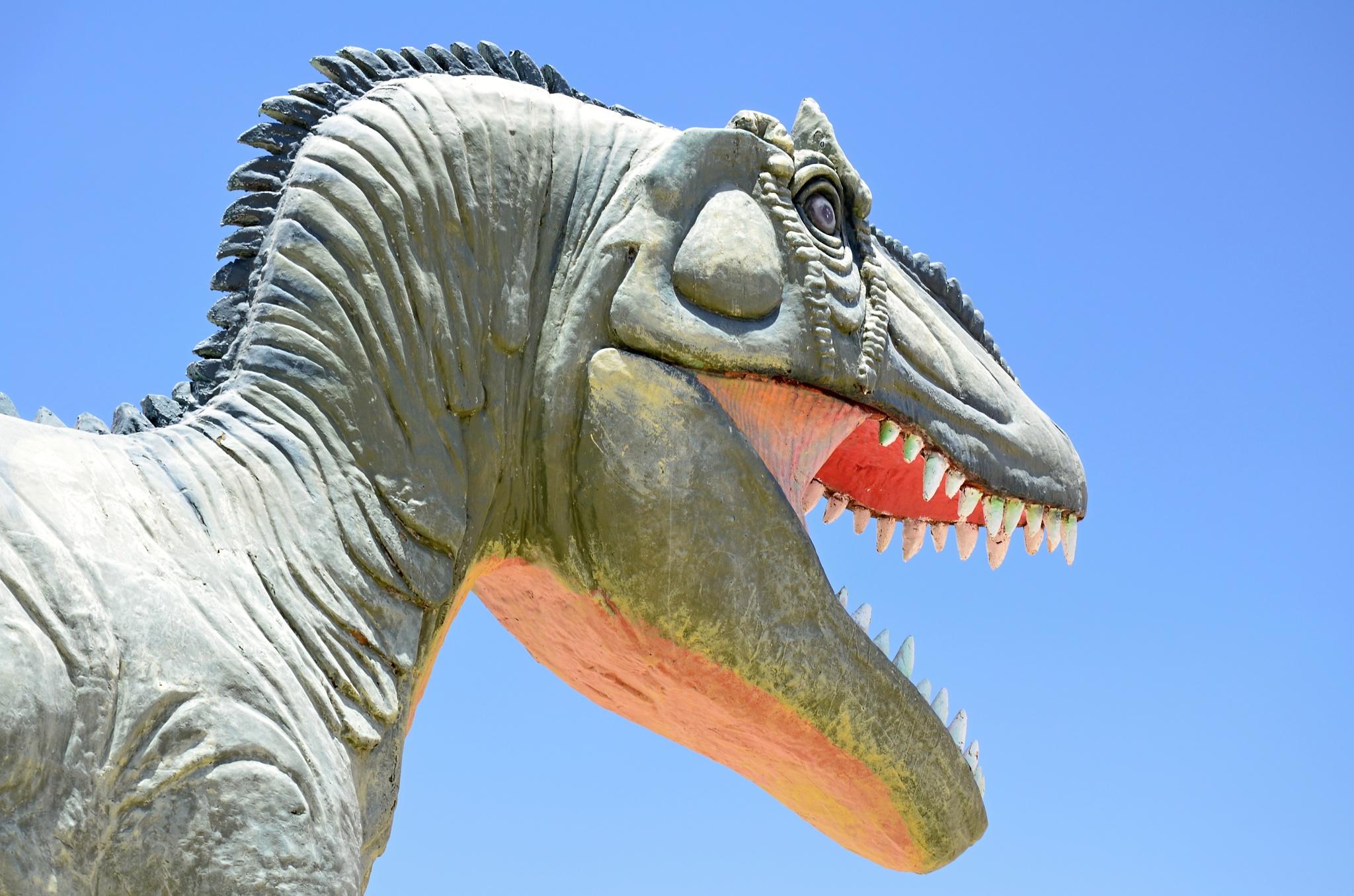 Hlava Tyrannosaura