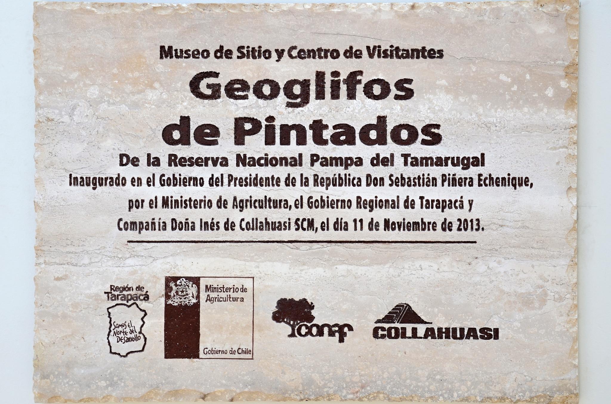 Středisko v Geoglifos de Pintados bylo otevřeno teprve předevčírem