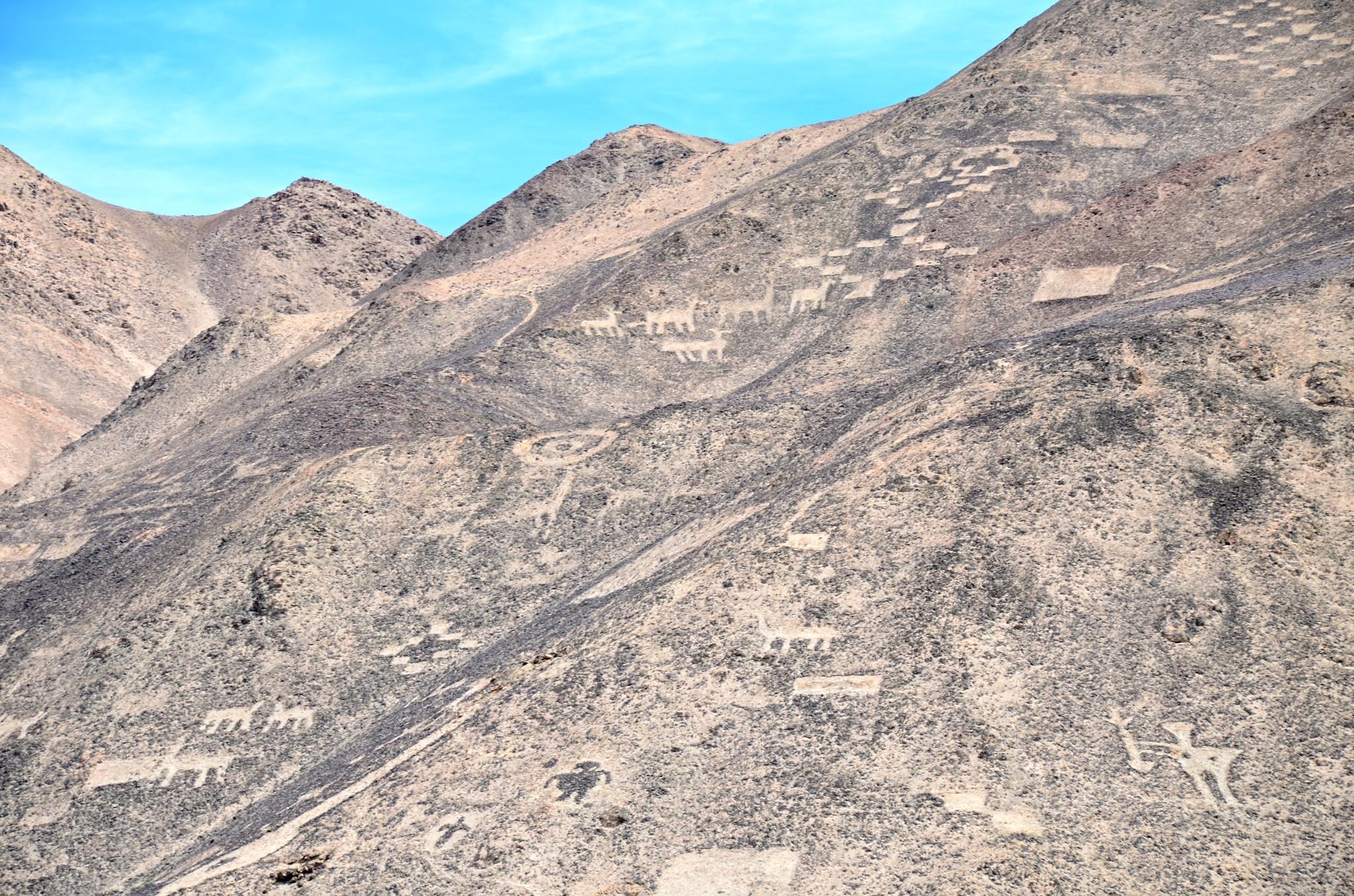 Detail na geoglyfy