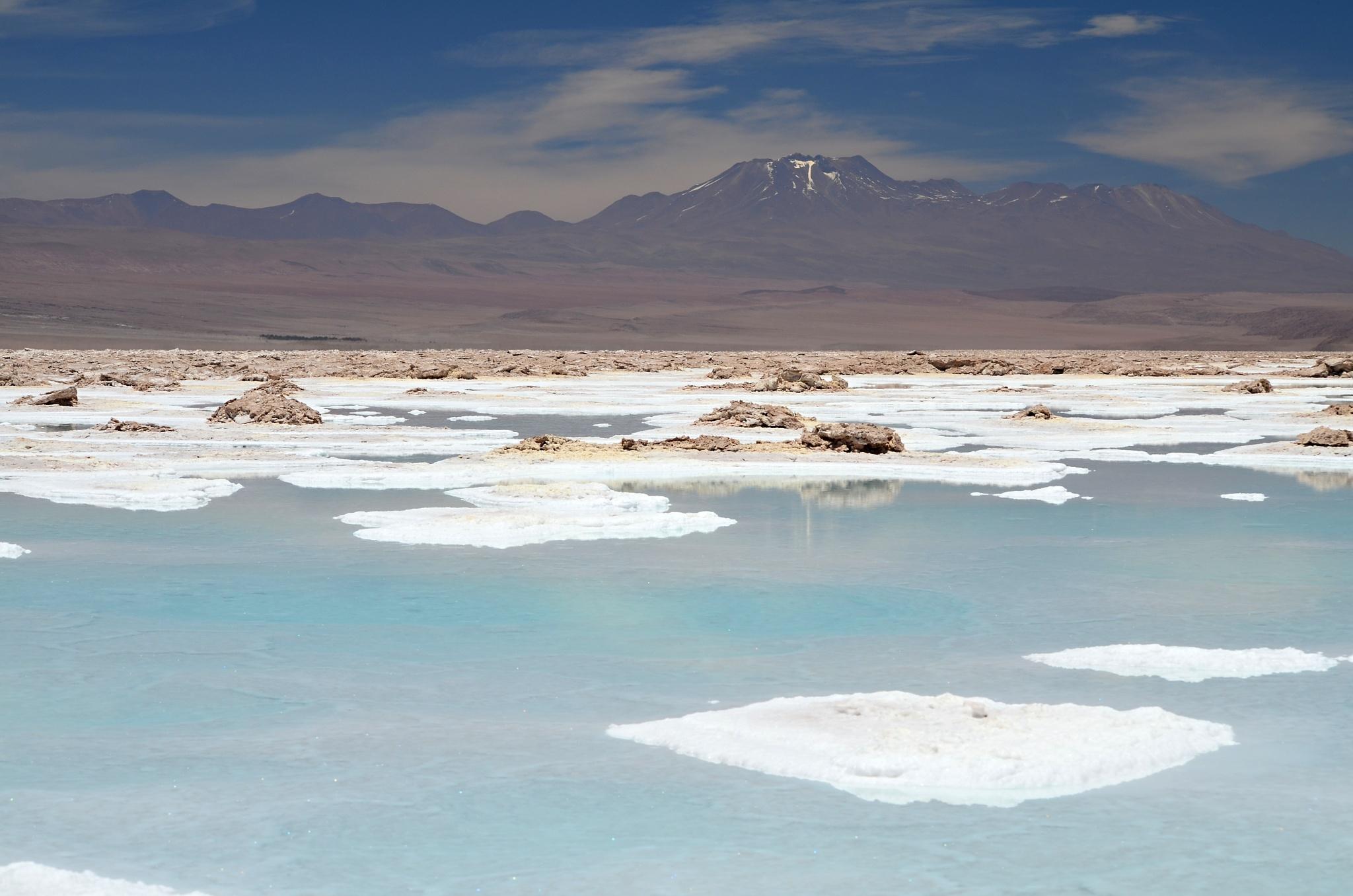 Kouzelné jezero Salada