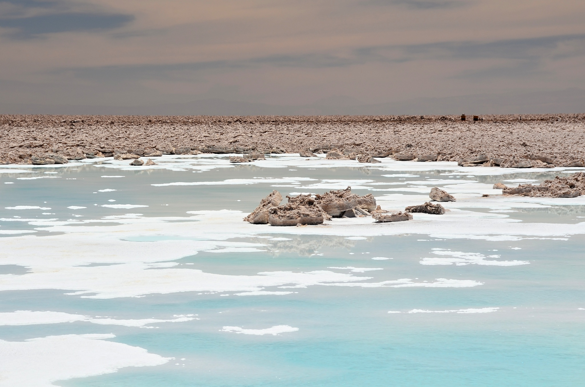 Krásné jezero Salada