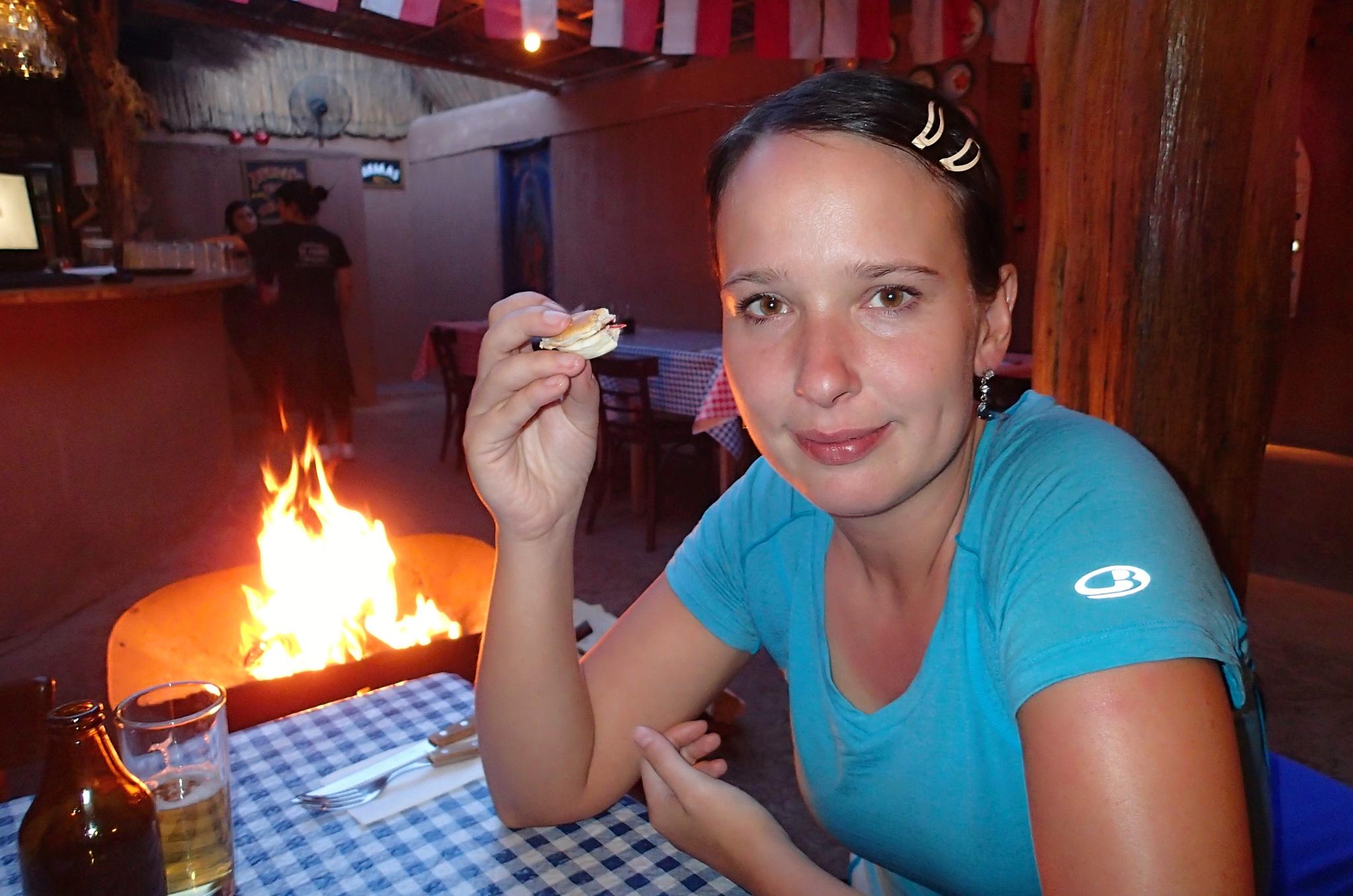 Na večeři v restauraci La Casona