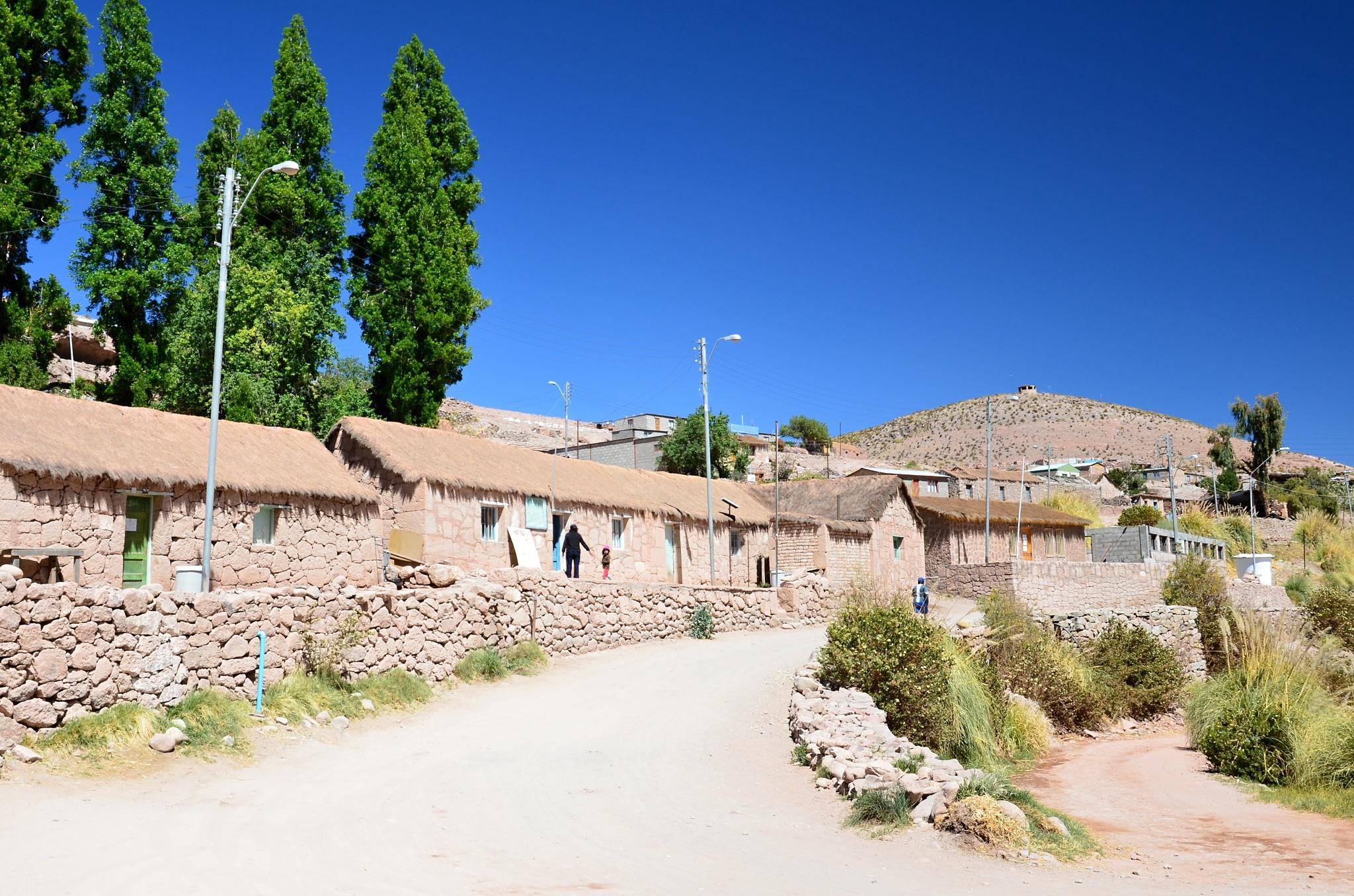 Domečky v oáze Caspana