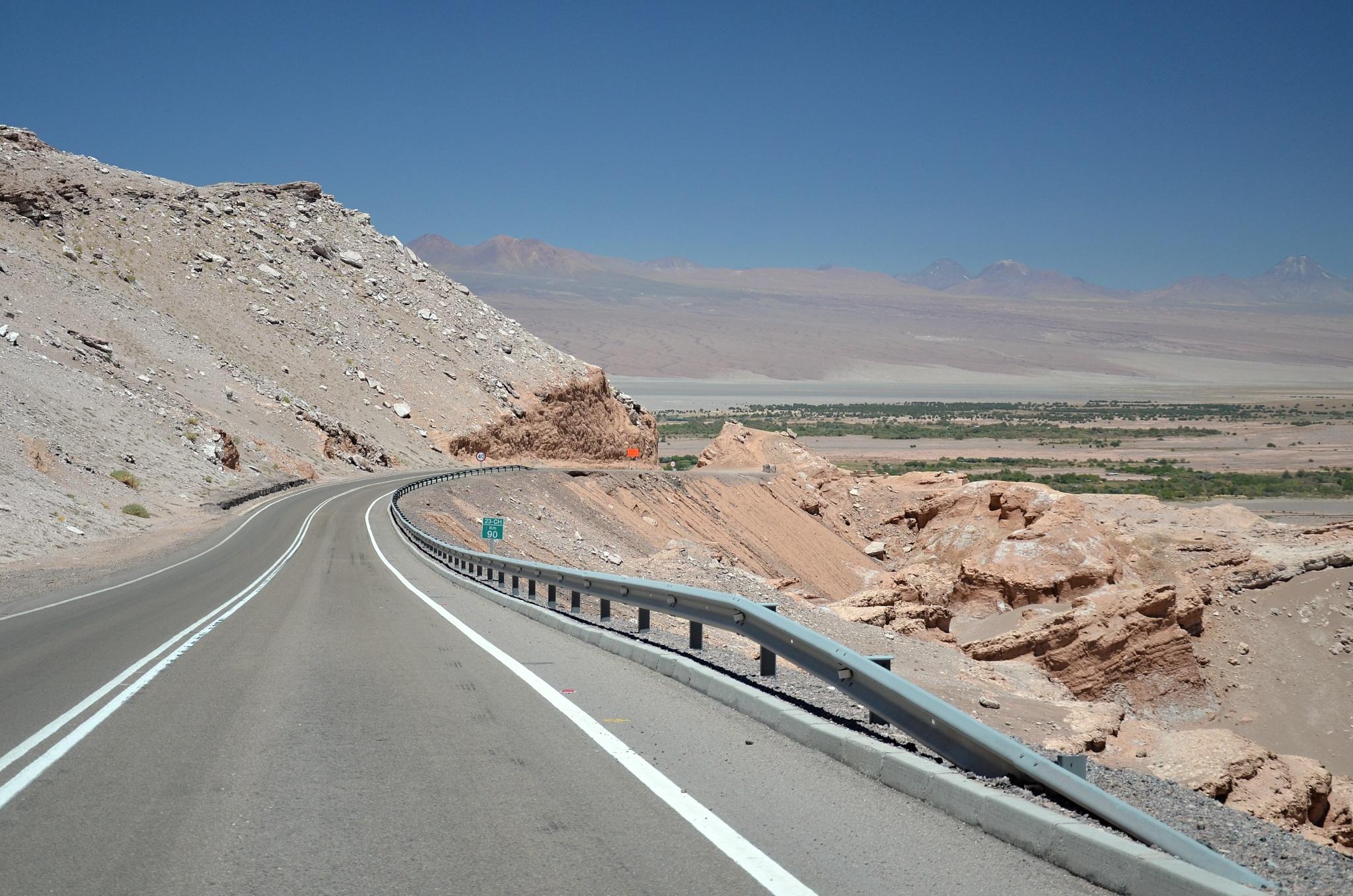 Přijíždíme do San Pedra de Atacama