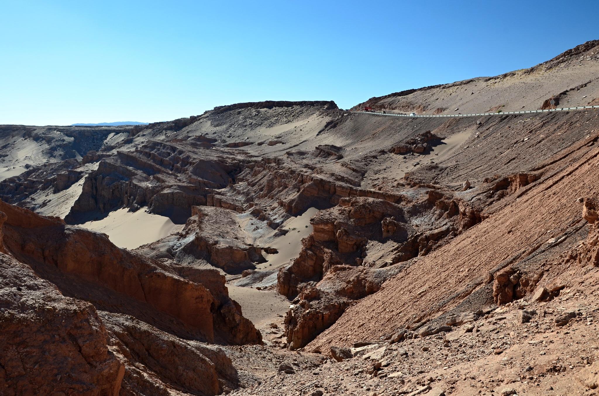 Na odpočívadle kousek od San Pedra