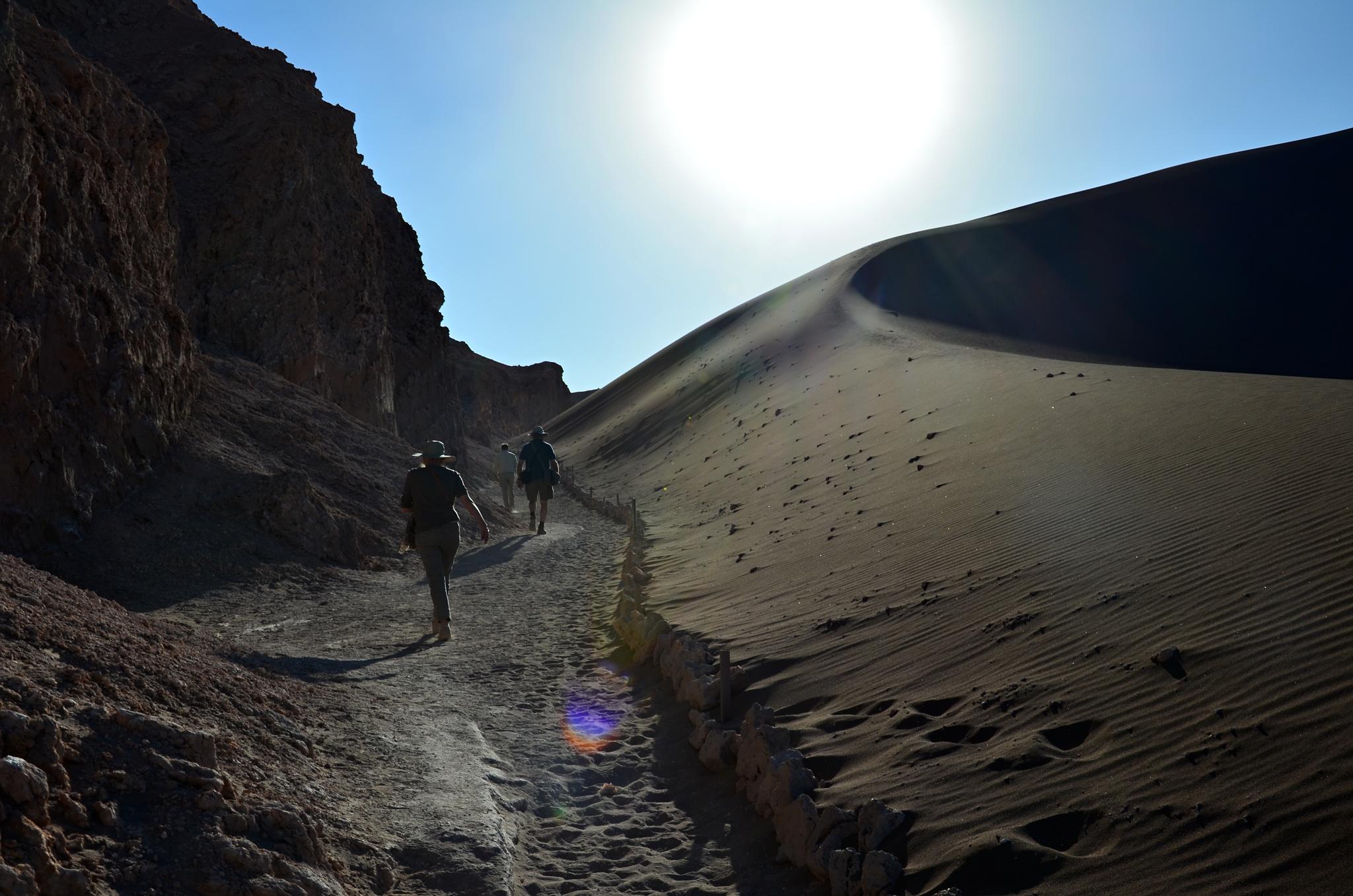 Šplháme na dunu