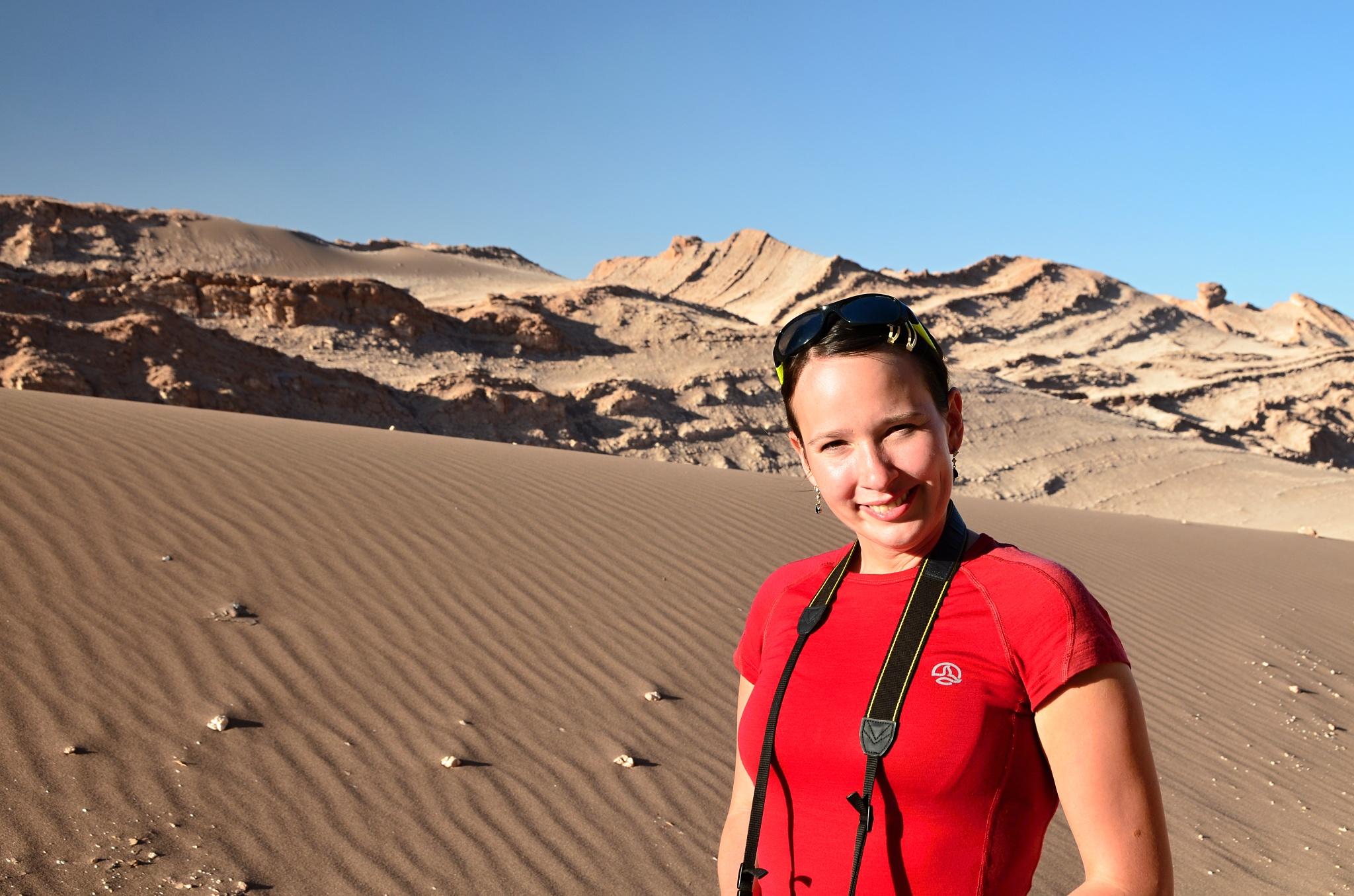 Hanka před dunou