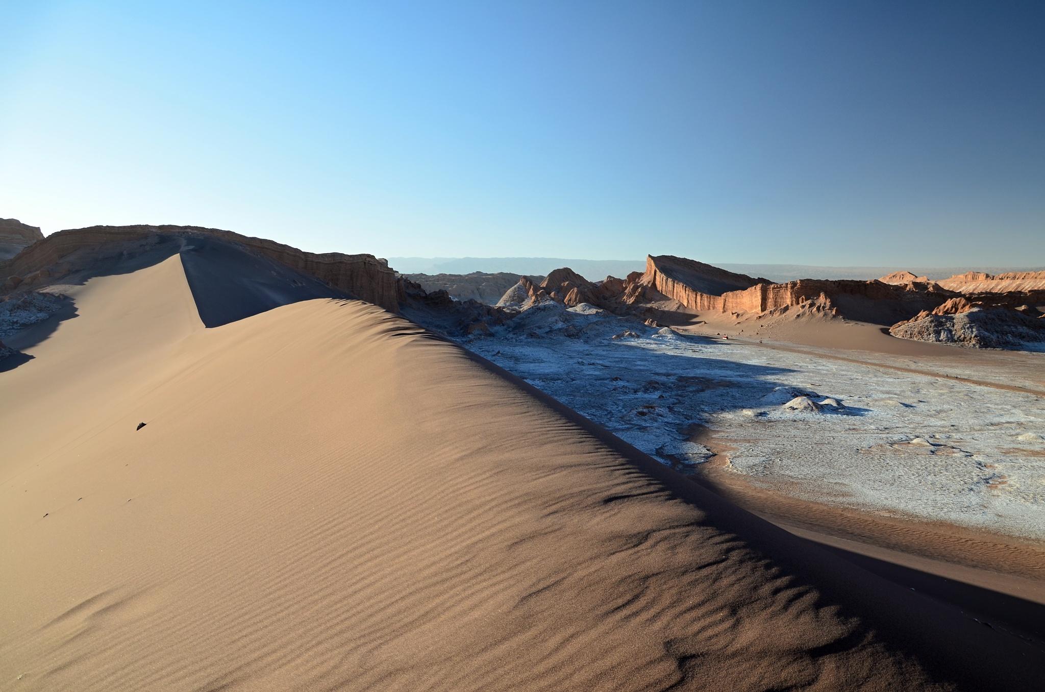 Krásná duna ve Valle de la Luna
