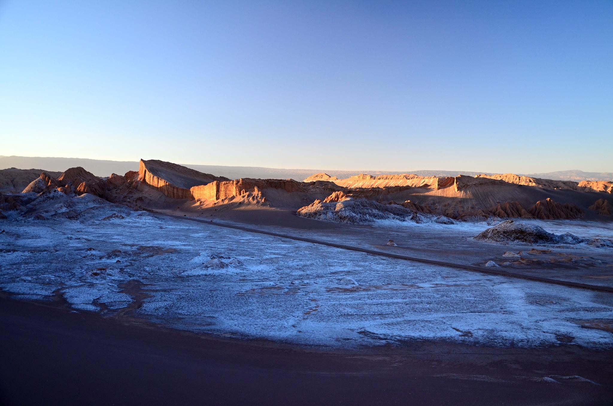 Solná pánev ve Valle de la Luna