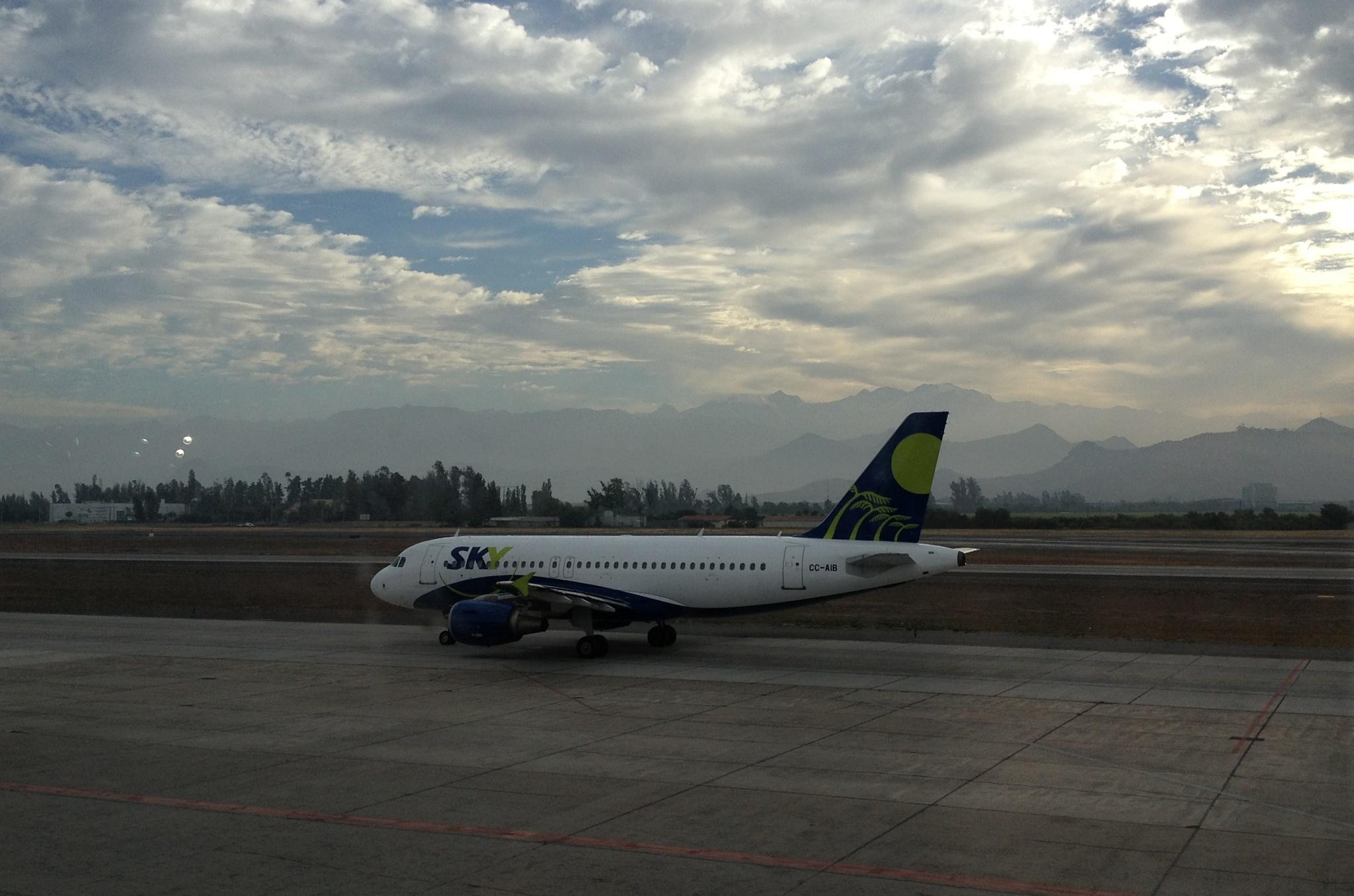 Letadlo Sky Airline, s podobným poletíme také