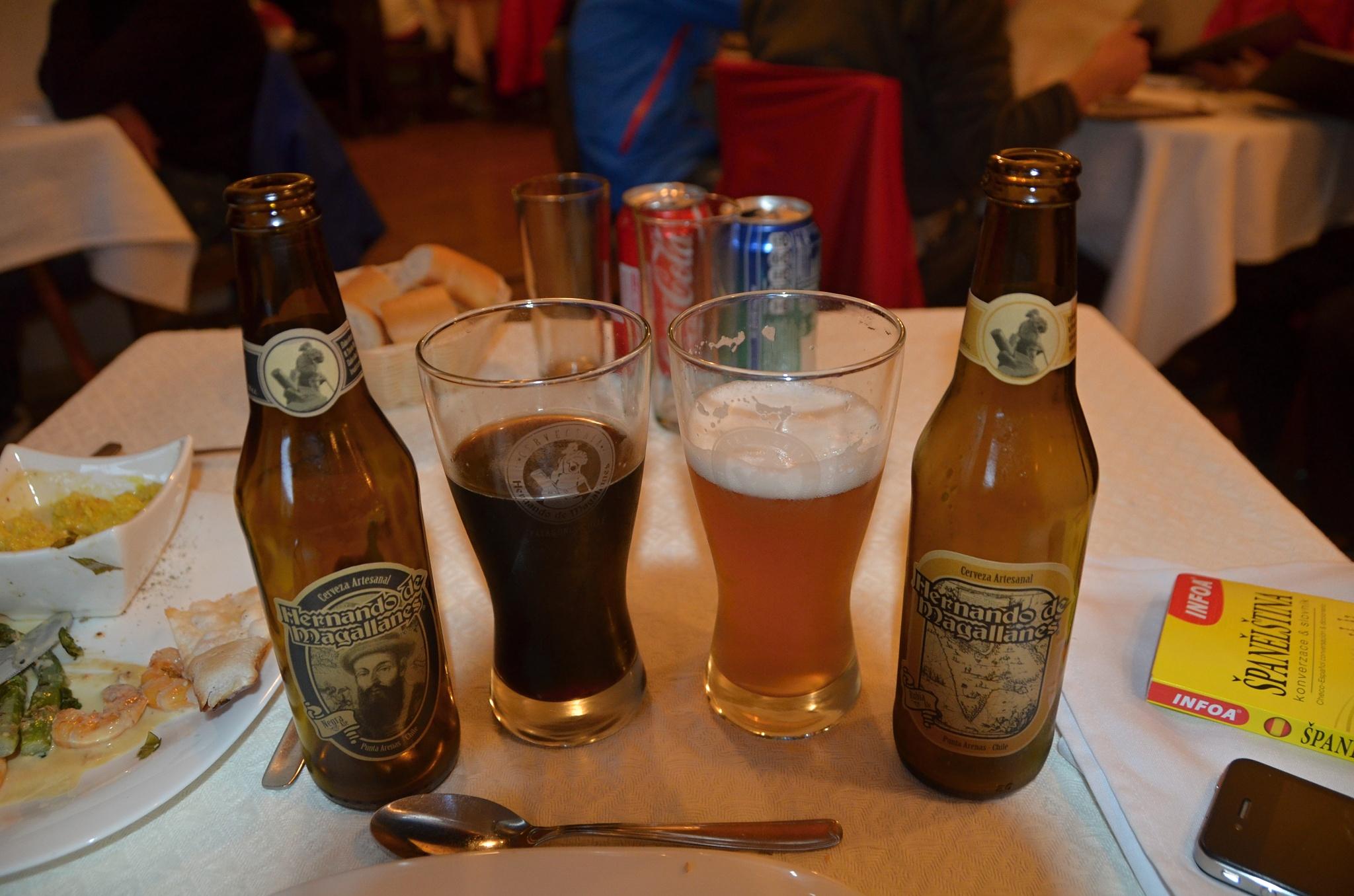 Místní pivo nesoucí jméno slavného objevitele