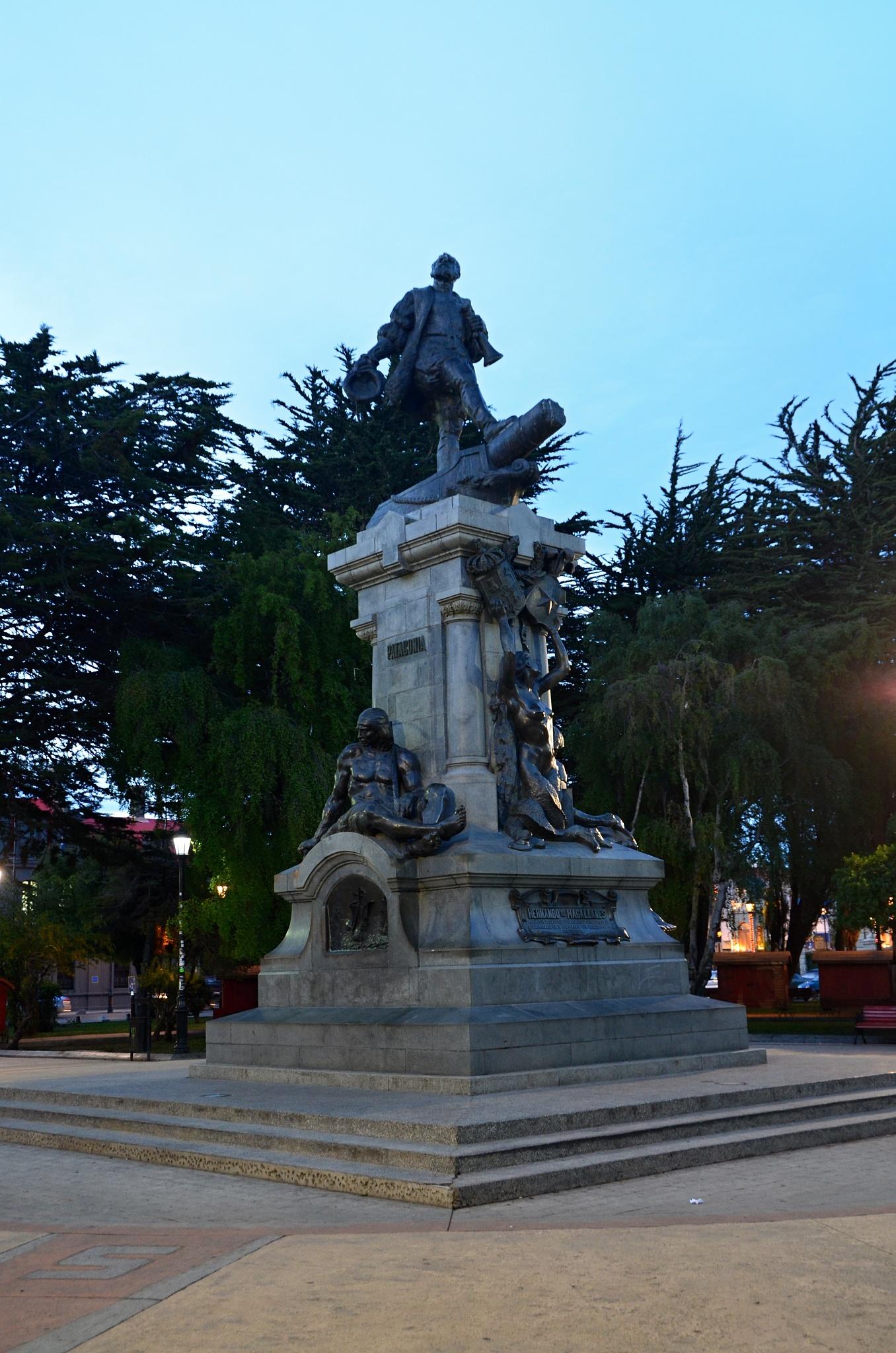 Pomník Ferdinanda Magellana