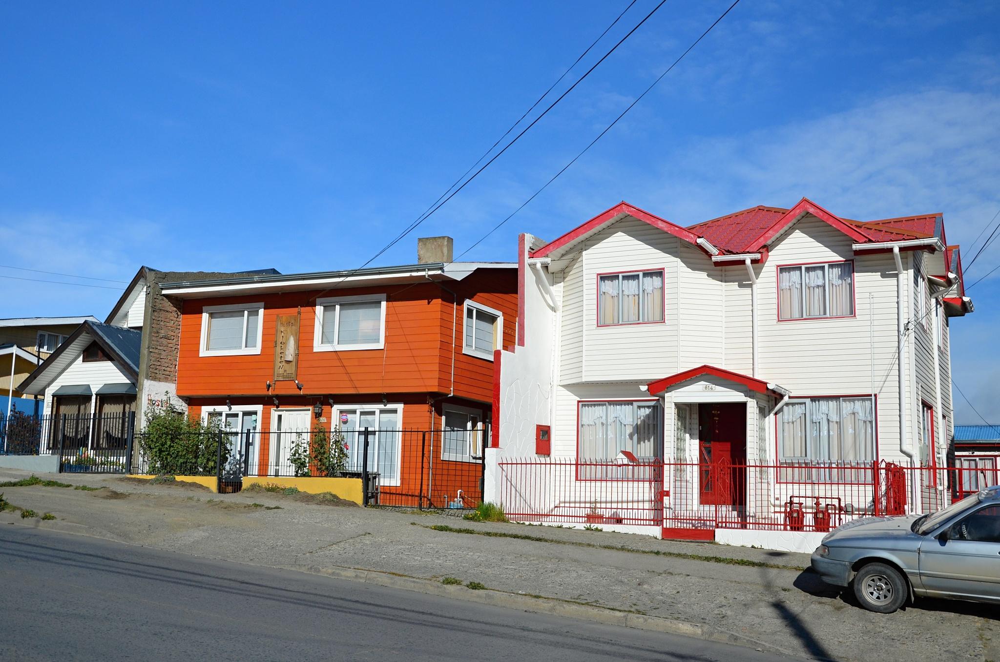 Penziónek Klokoten v Punta Arenas
