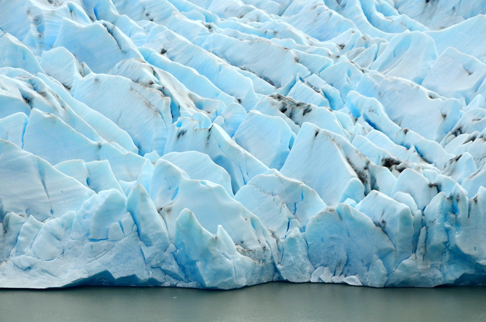 Detail načelo ledovce Grey