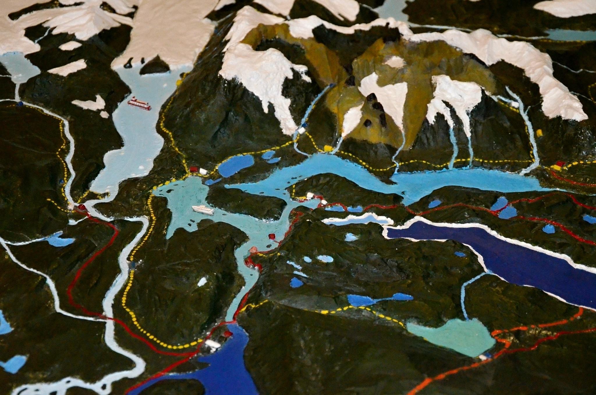 3D model oblasti Torres del Paine