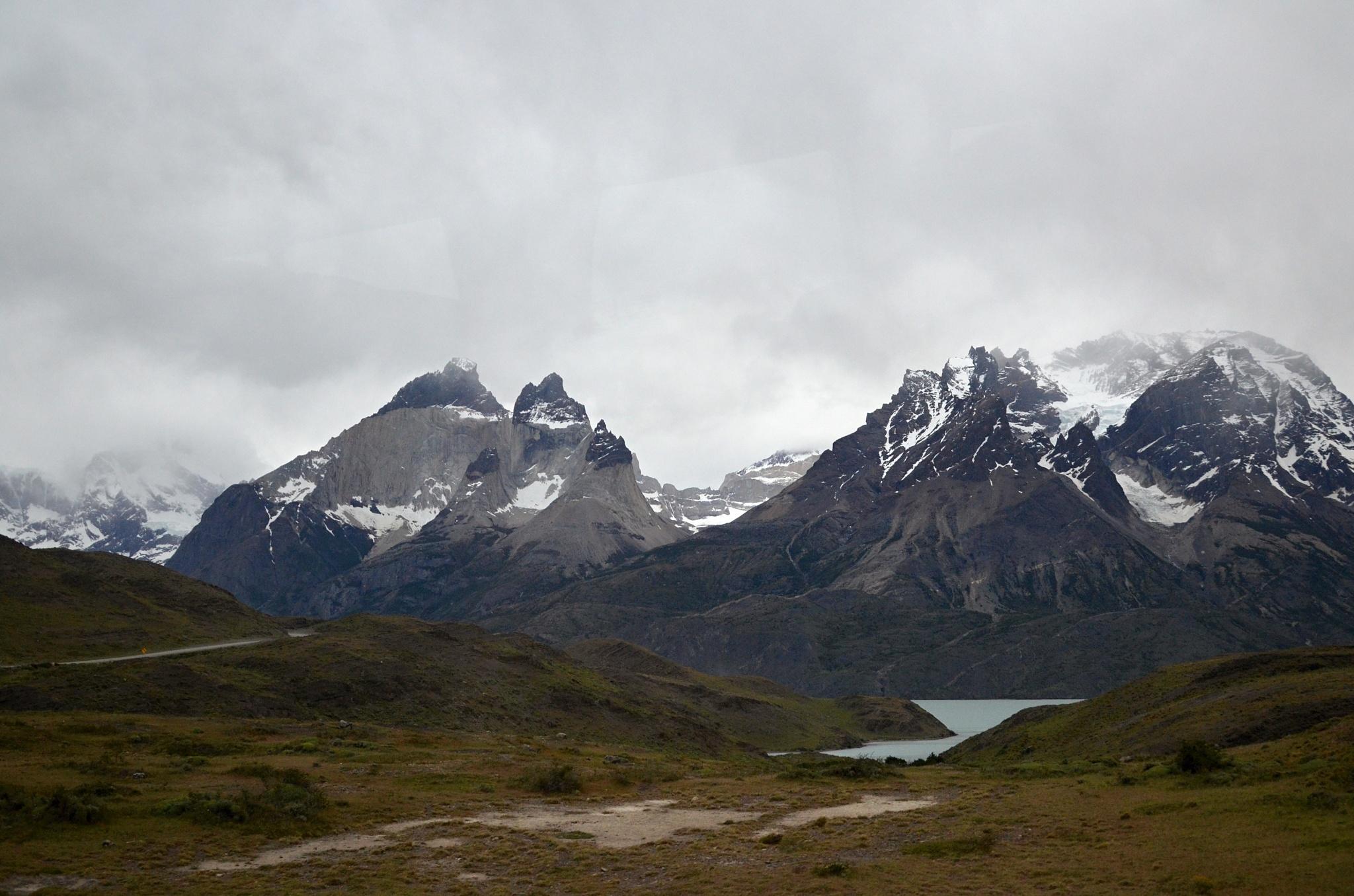 Poslední pohled na hory v Torres del Paine