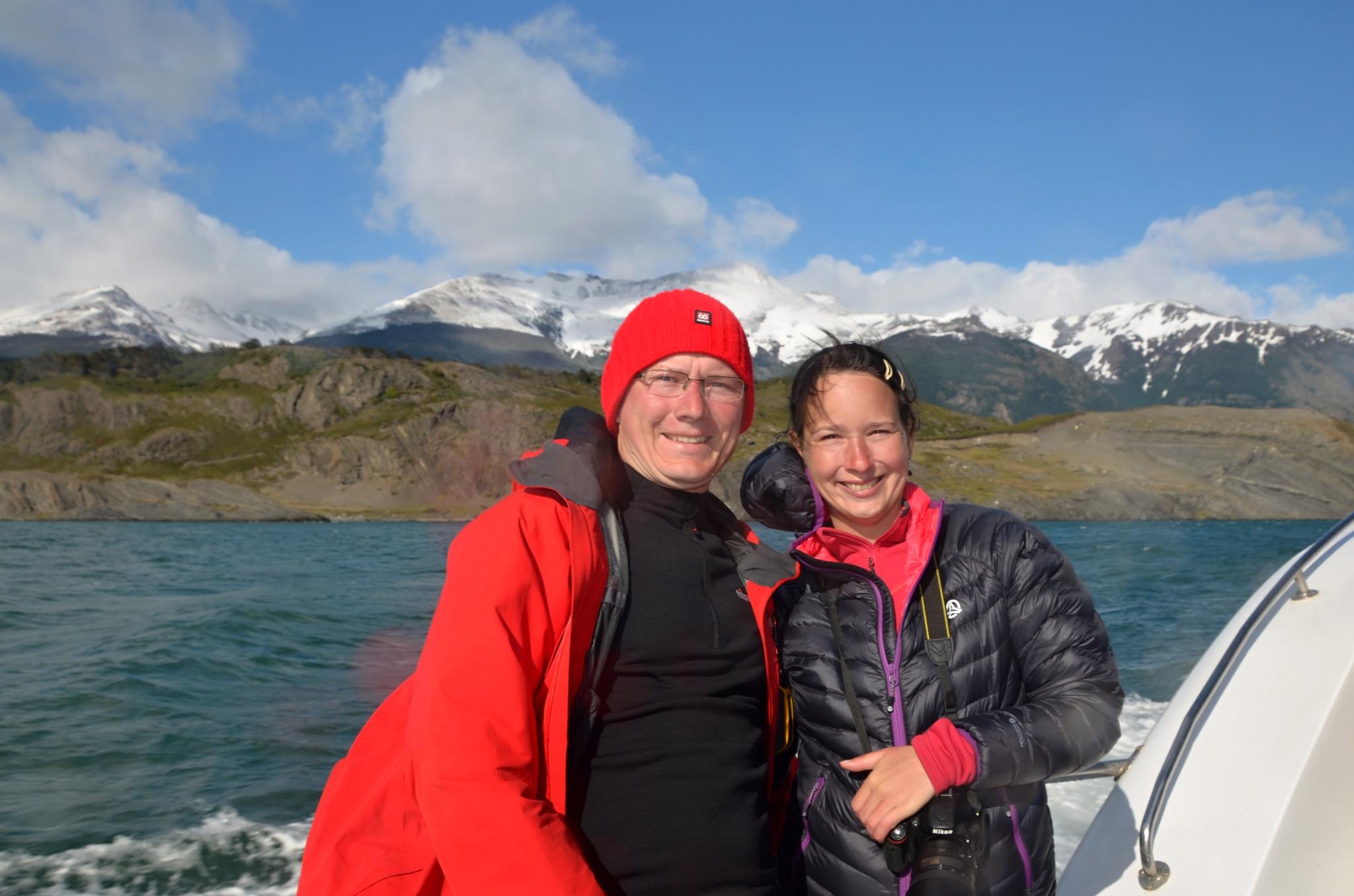 Plavbu za ledovci si užíváme