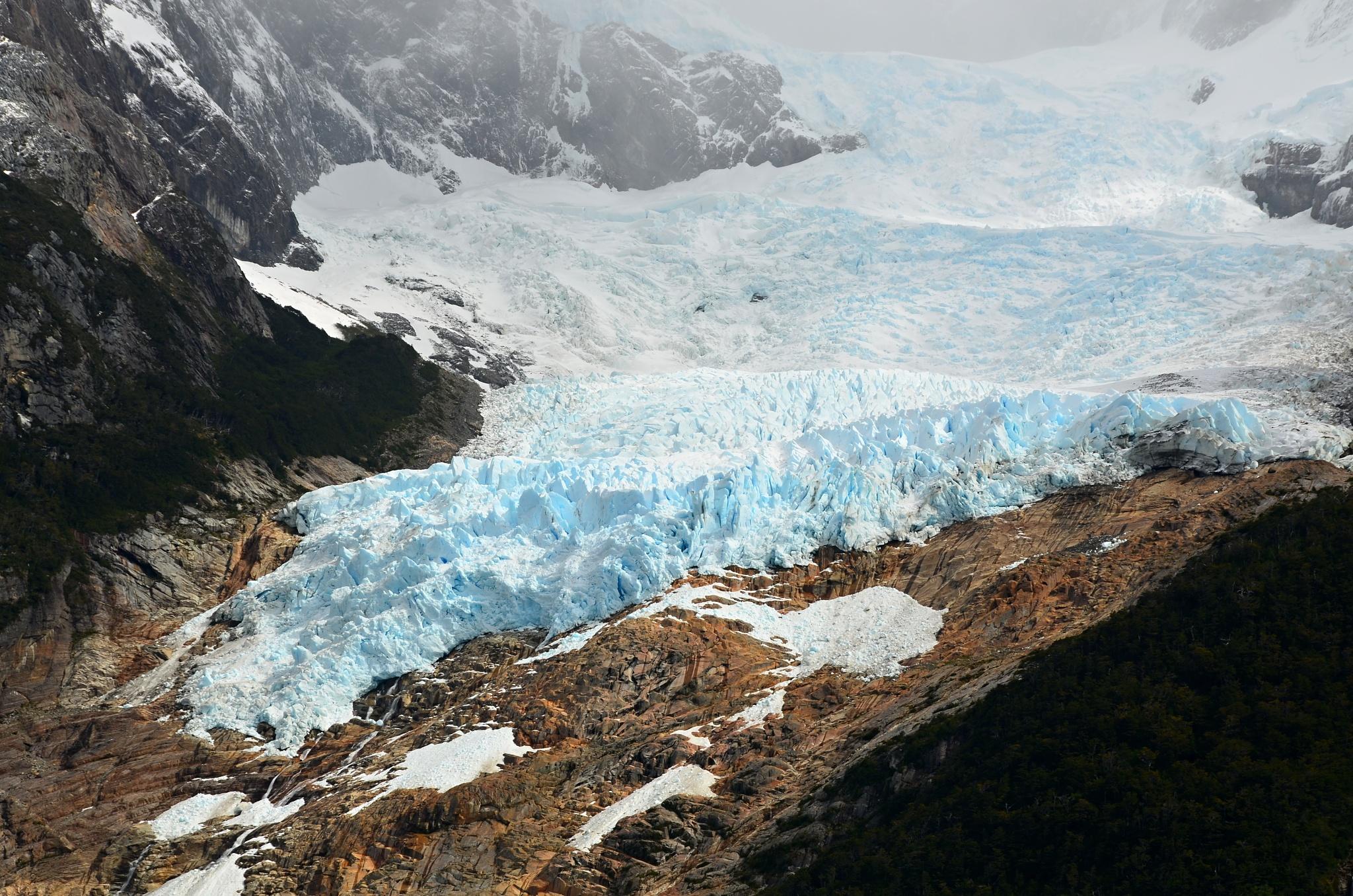 Ustupující ledovec Balmaceda