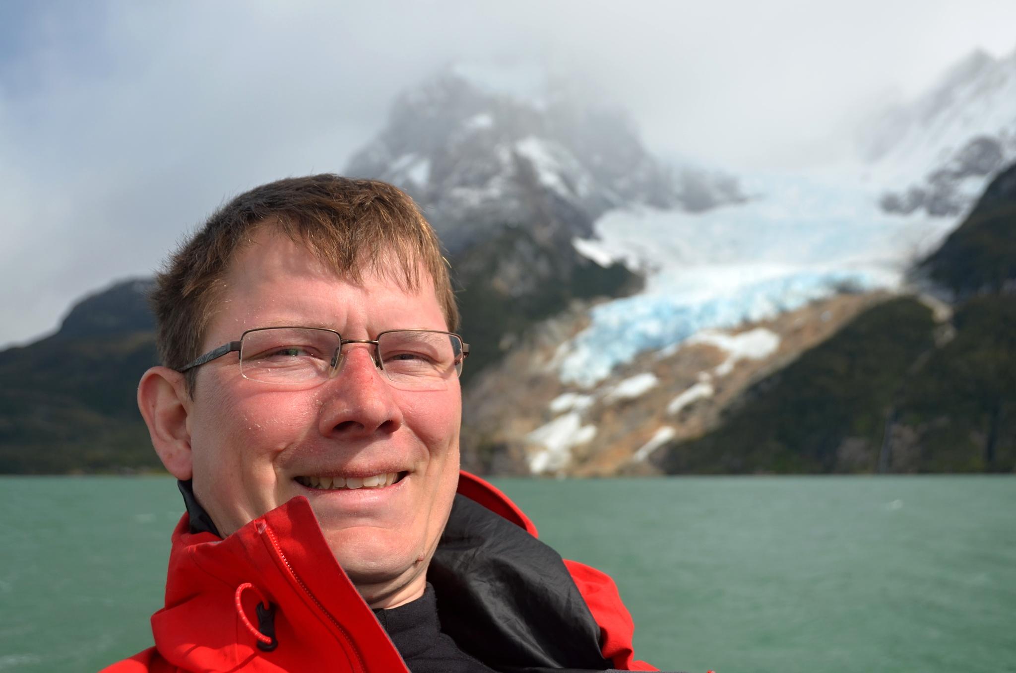 I já mám fotku s ledovcem Balmaceda
