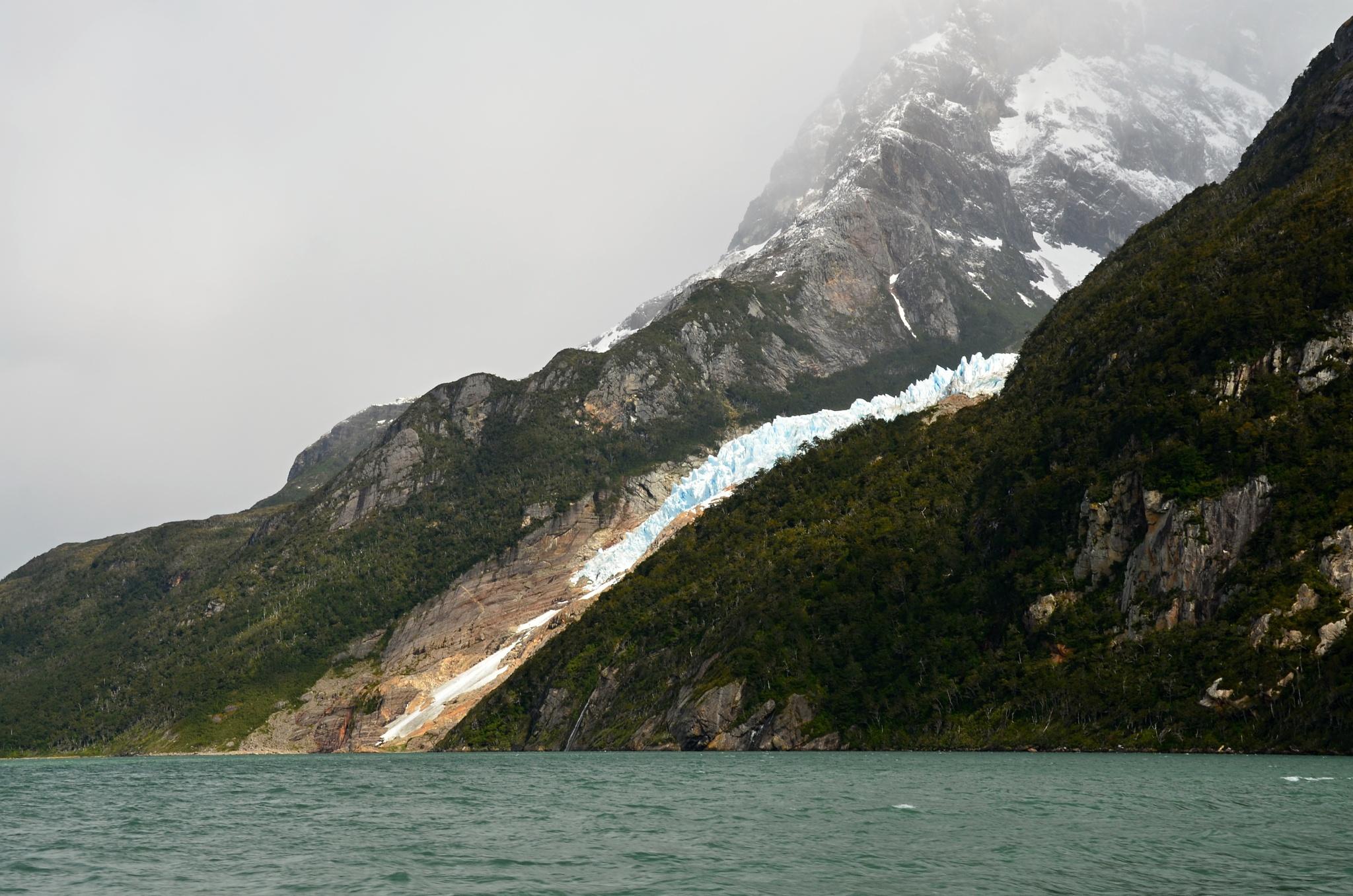 Mizející ledovec Balmaceda