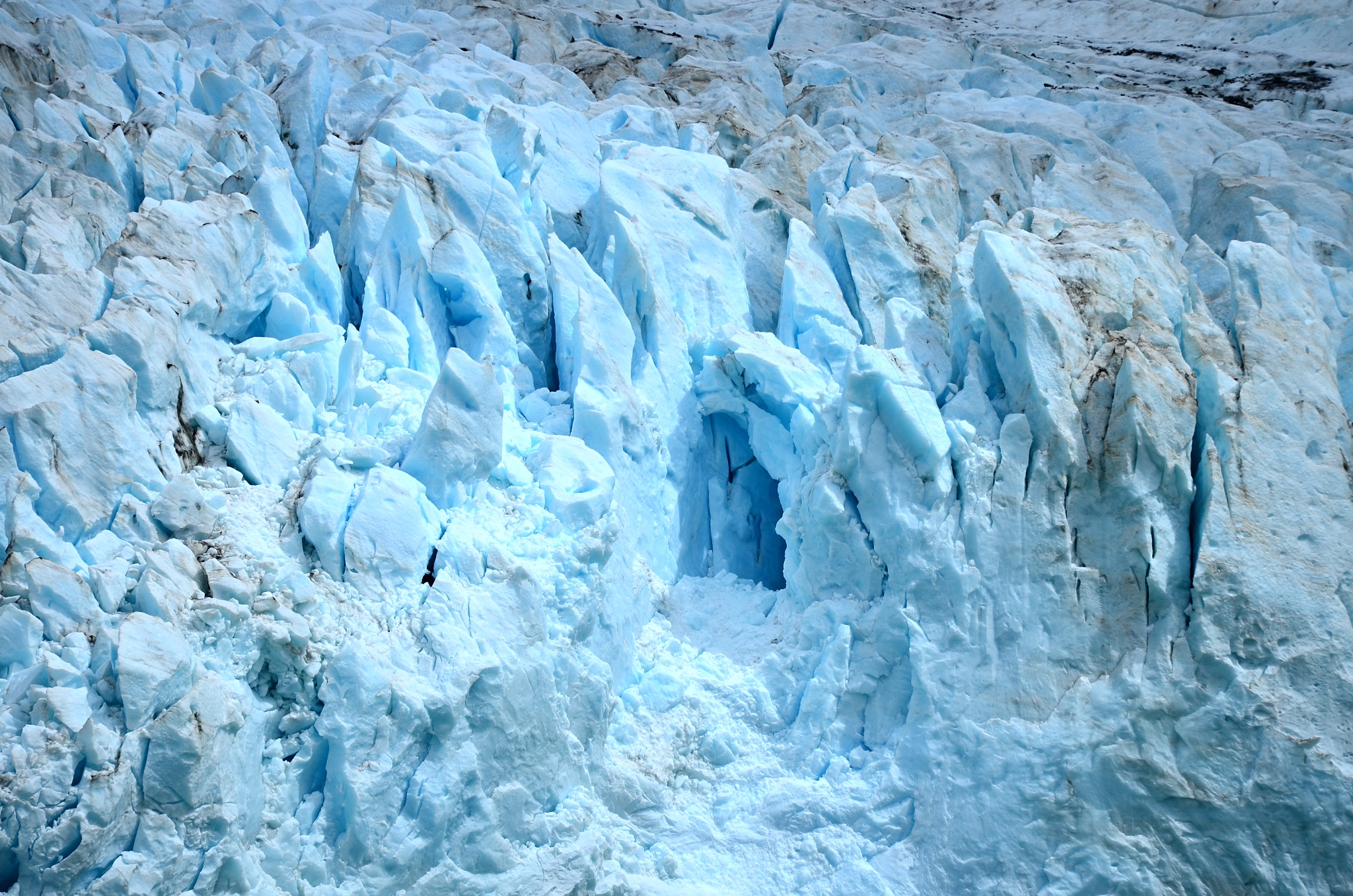 Detail na ledovec