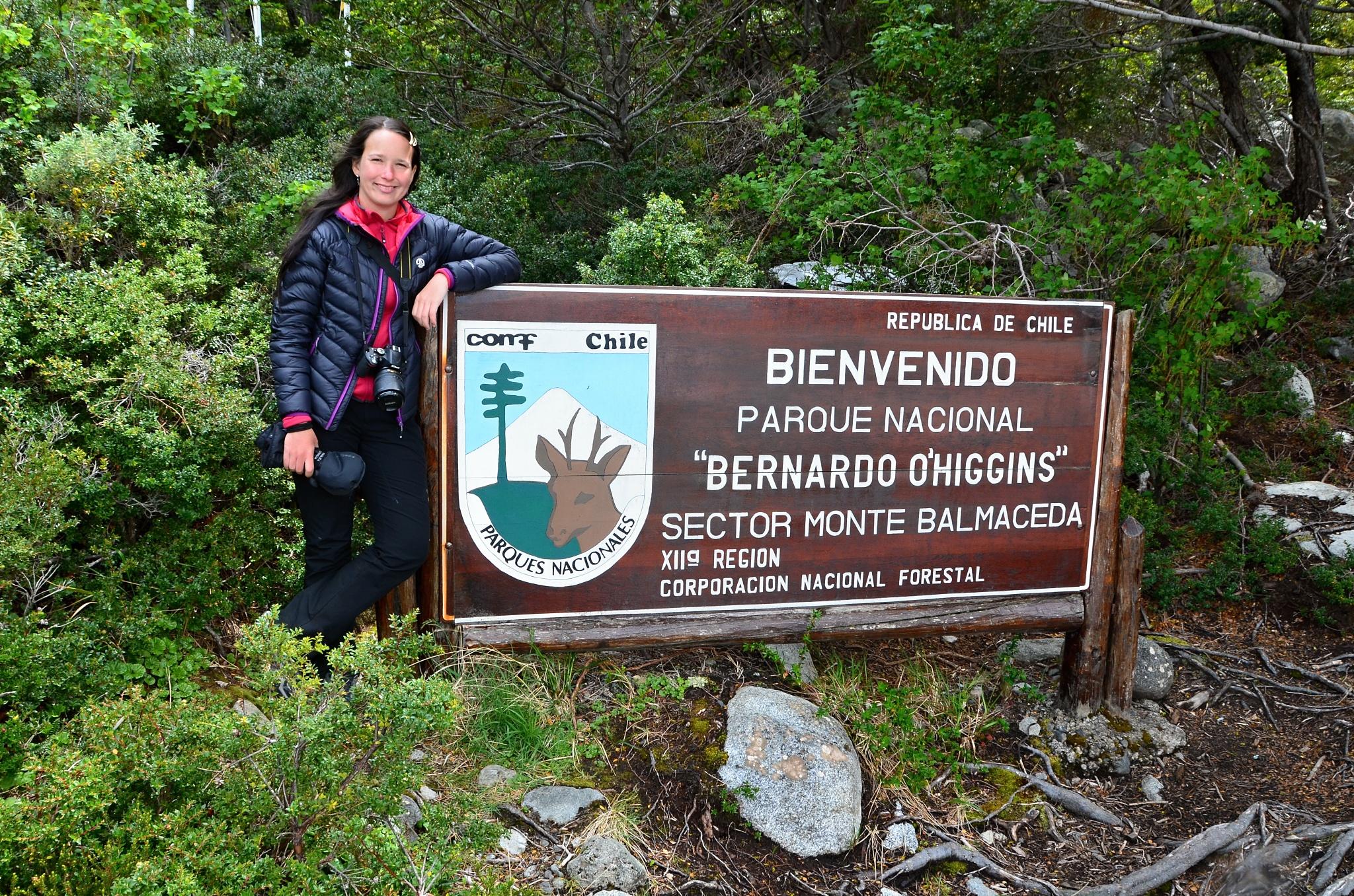Vítejte v národním parku Bernardo O'Higgins
