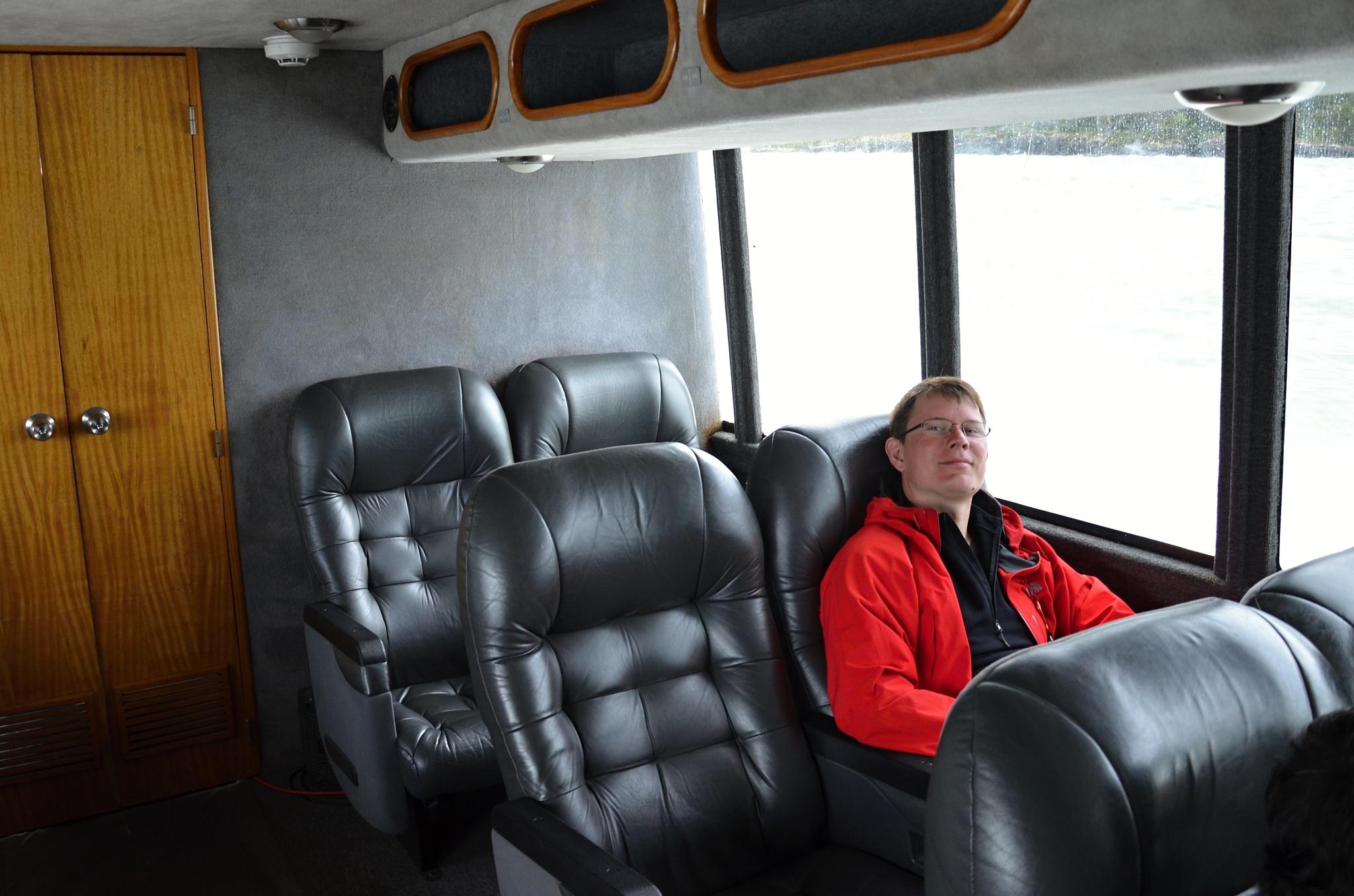 Luxusní sedadla ve VIP třídě