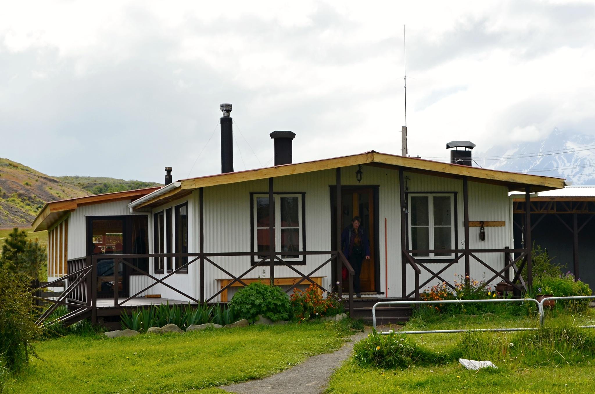 Restaurace na cestě zpět ve Fiordo Eberhard