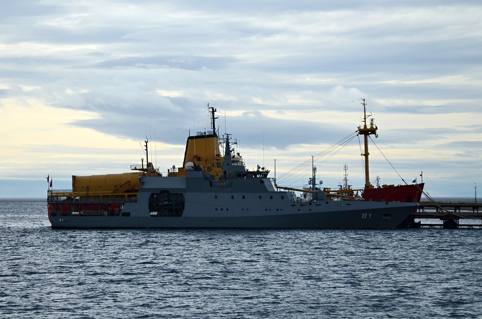 Chilské vojenské námořnictvo