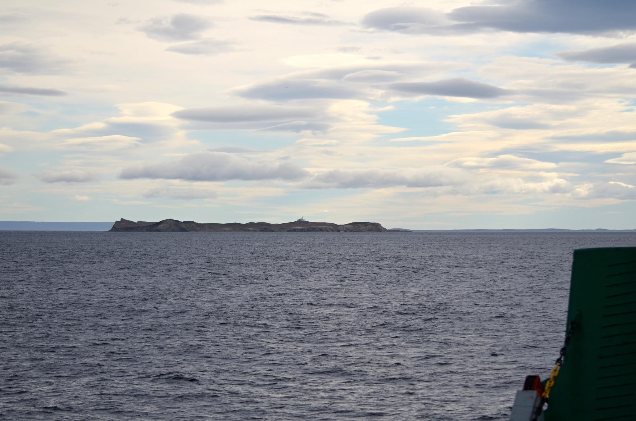 Isla Magdalena na obzoru